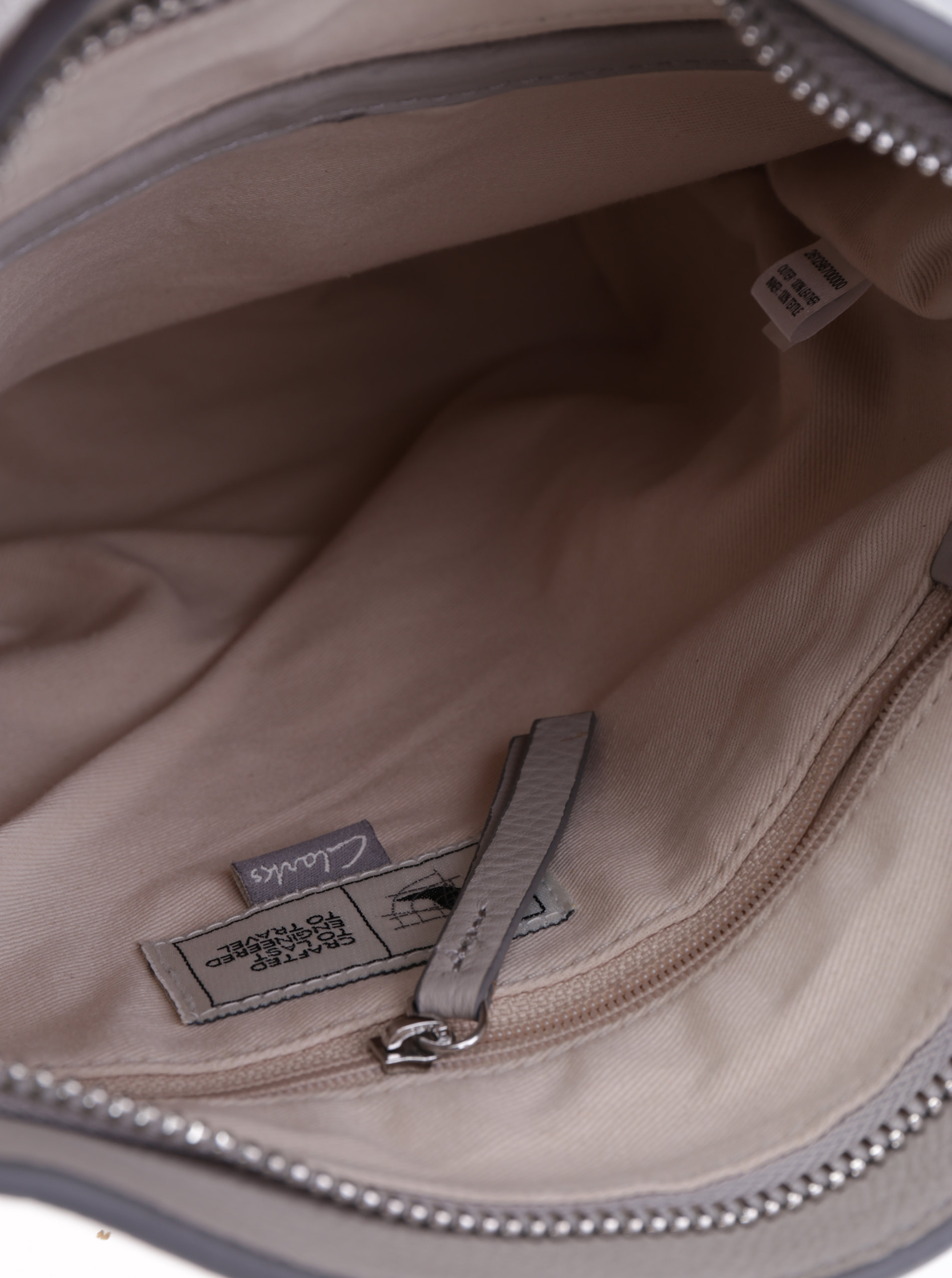 f5c2da1de Béžová kožená crossbody kabelka Clarks Topsham Jewel   ZOOT.sk