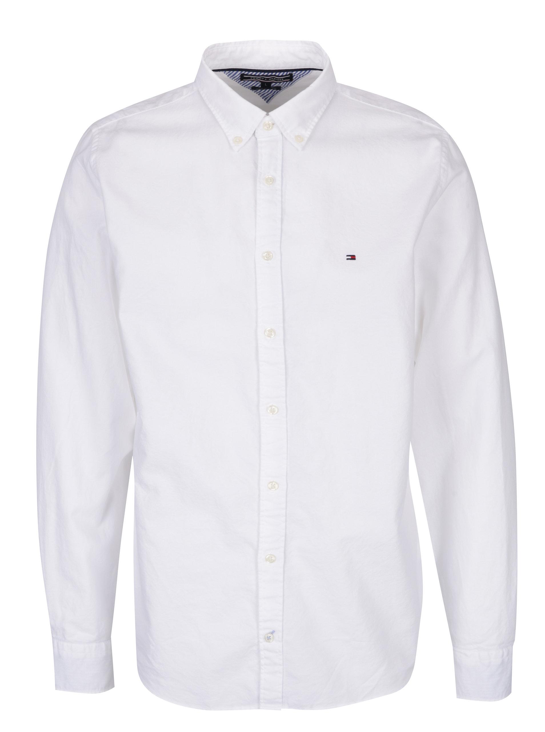 94c76ecc0 Biela pánska košeľa Tommy Hilfiger Ivy | ZOOT.sk