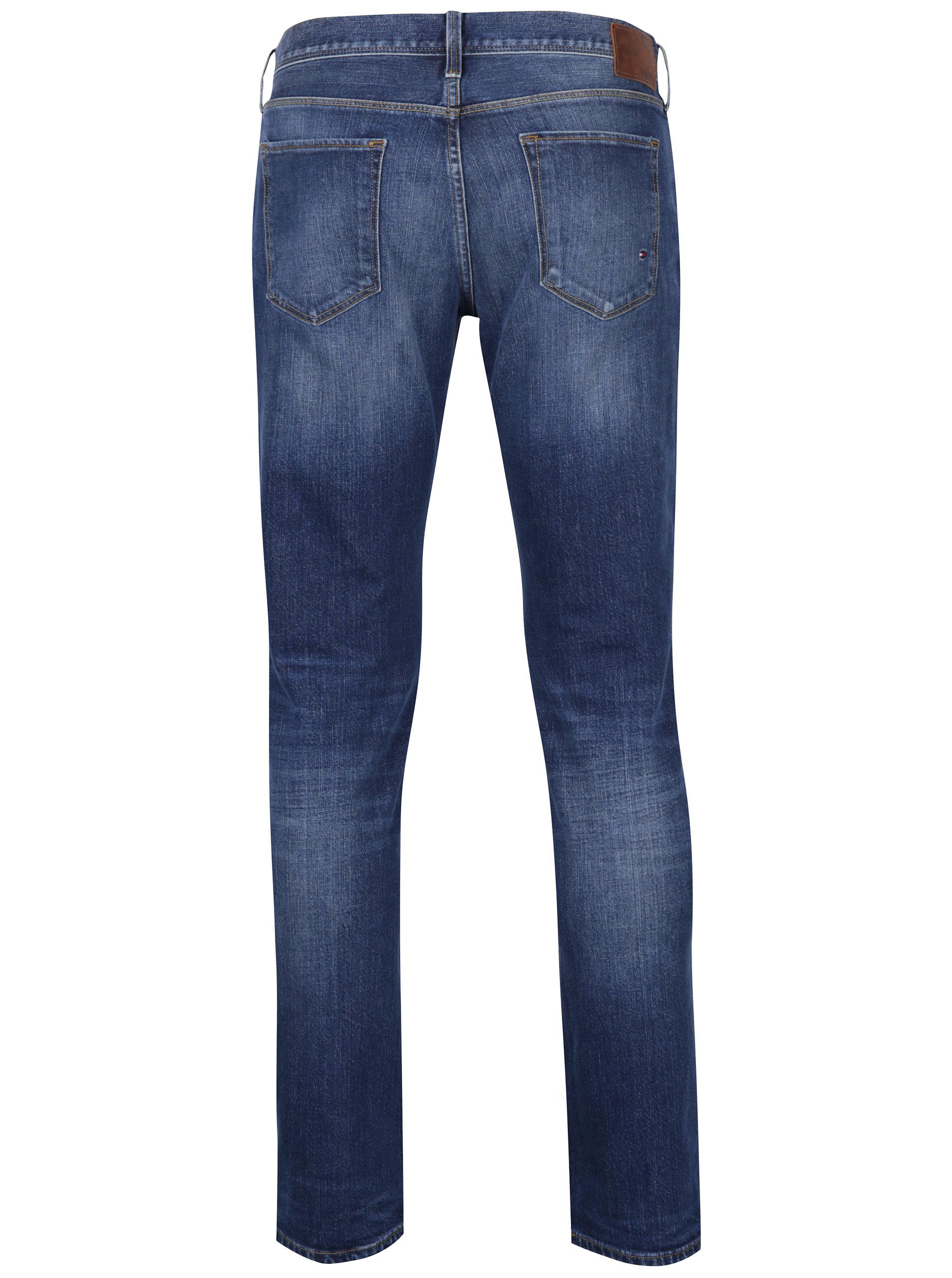 1f1bb04700b Tmavě modré pánské džíny Tommy Hilfiger Denton ...
