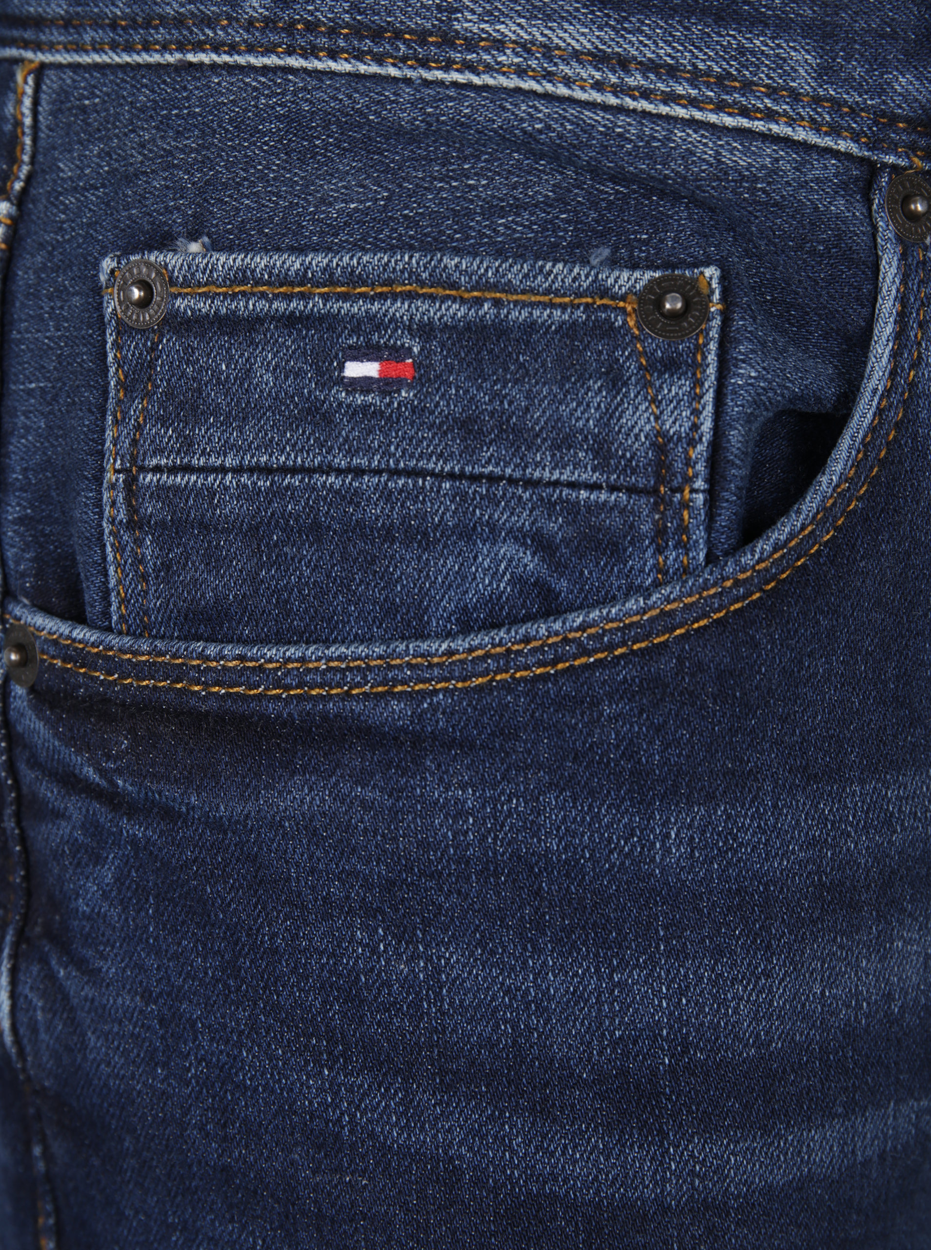 Tmavě modré pánské slim fit džíny Tommy Hilfiger Bleecker ... 7346e2cef1