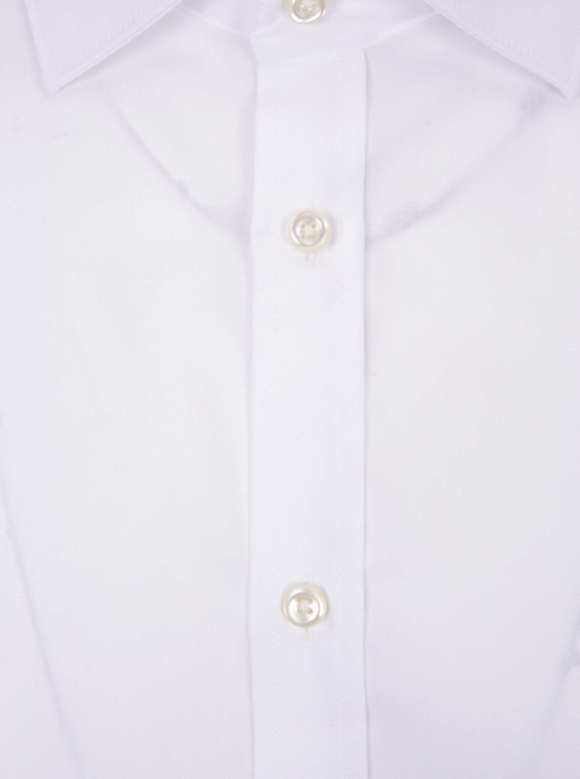 b6184123ab26 Biela pánska formálna slim fit košeľa STEVULA ...