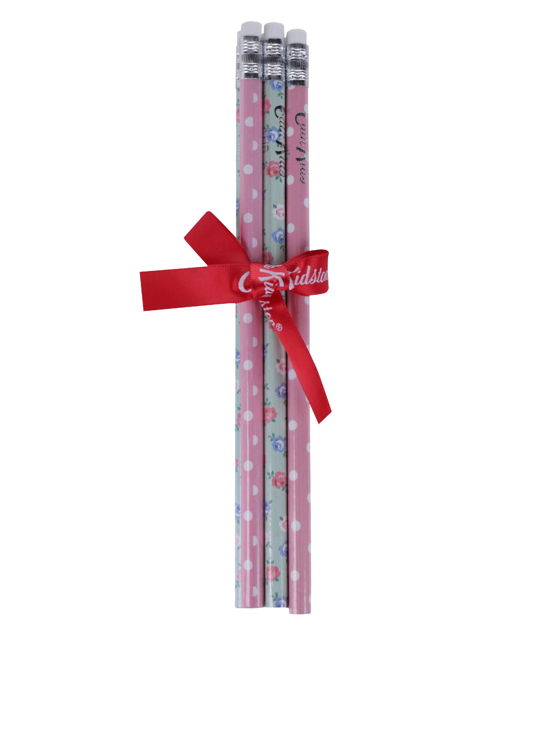 70724d53d Súprava šiestich vzorovaných ceruziek v ružovej, zelenej a bielej farbe  Cath Kidston ...