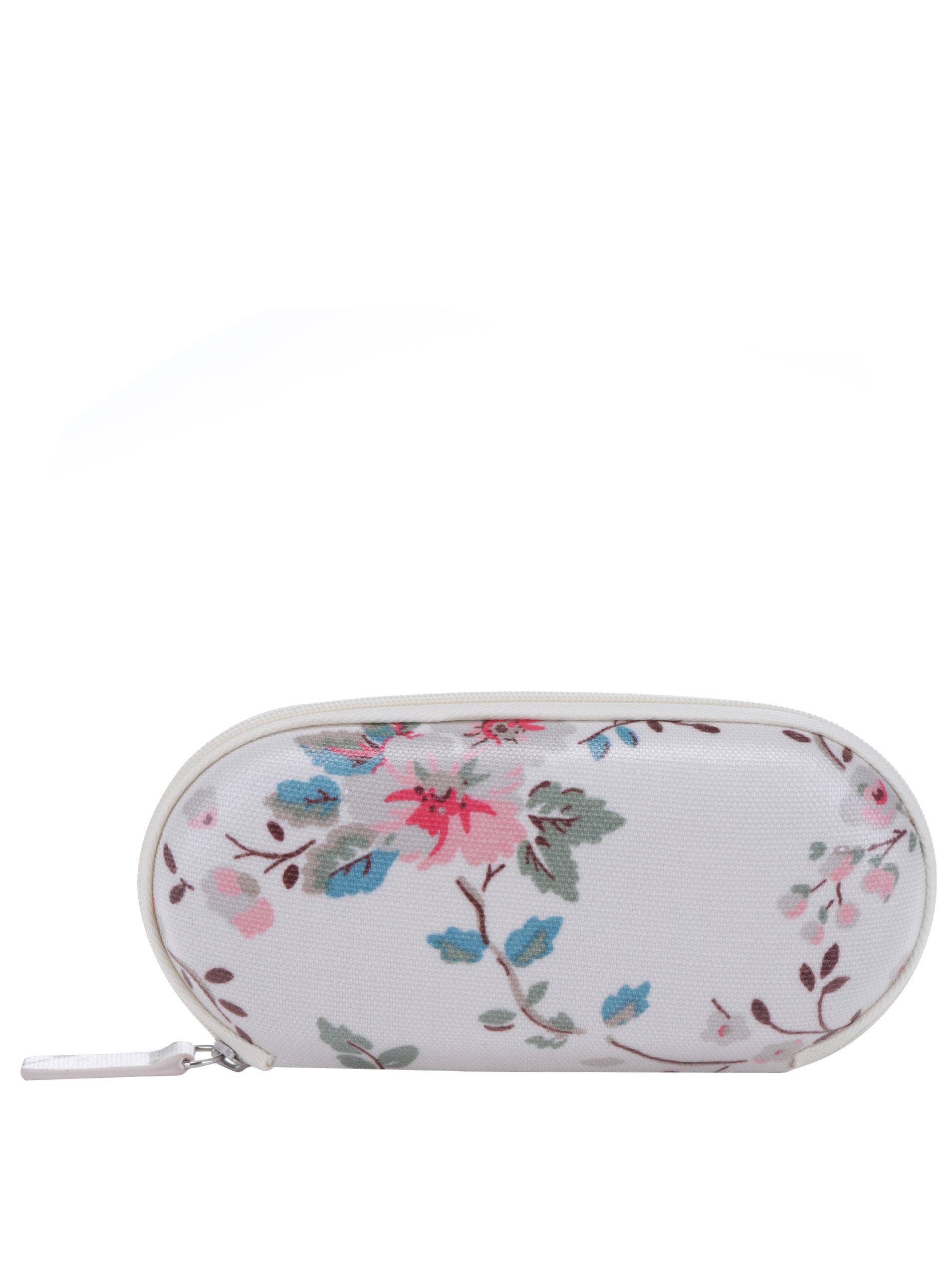 b207a99bb Béžovo-sivé kvetované puzdro na okuliare Cath Kidston | ZOOT.sk