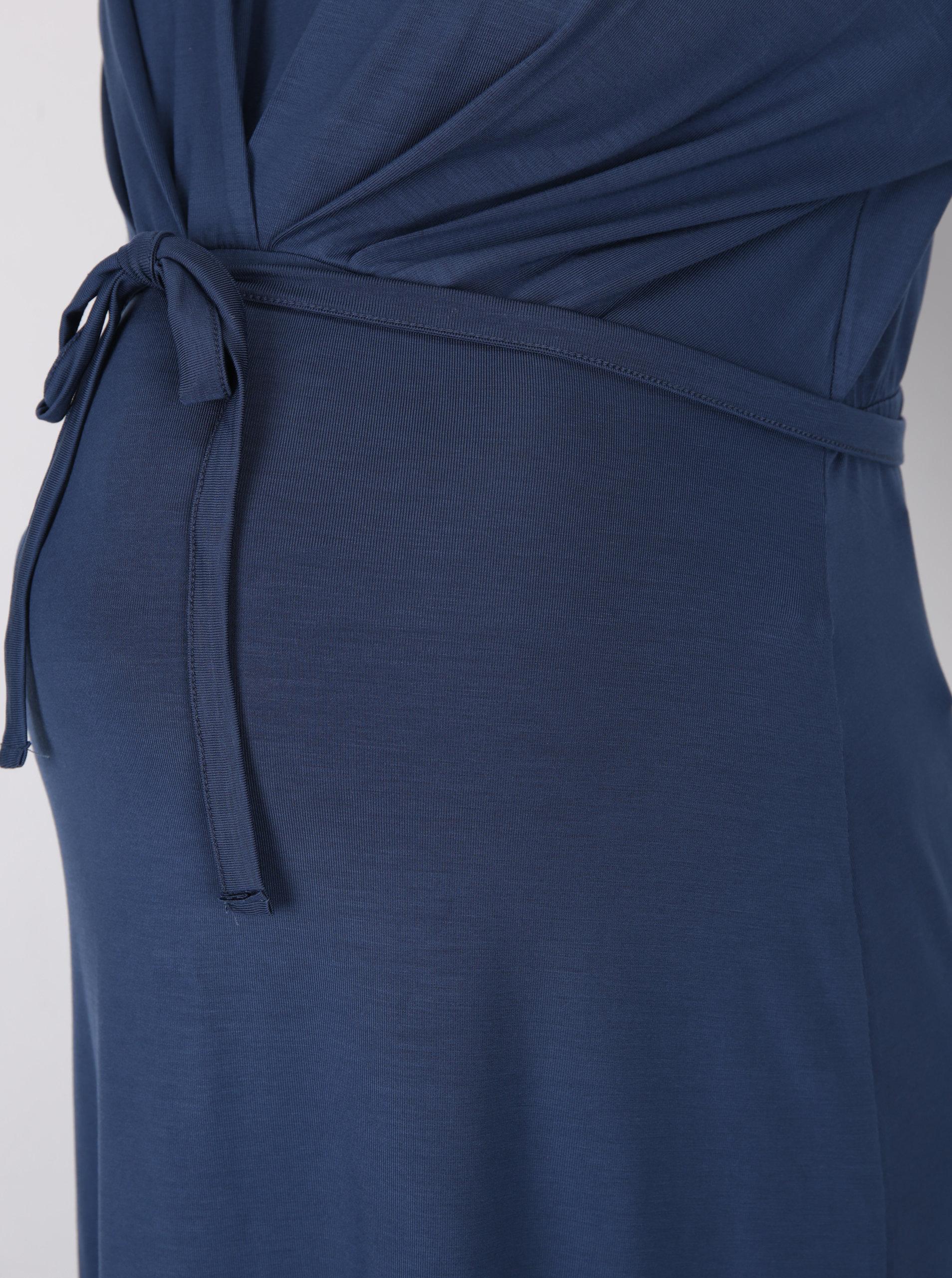 Tmavě modré těhotenské šaty Mama.licious Lissy ... 8712a0a8b1