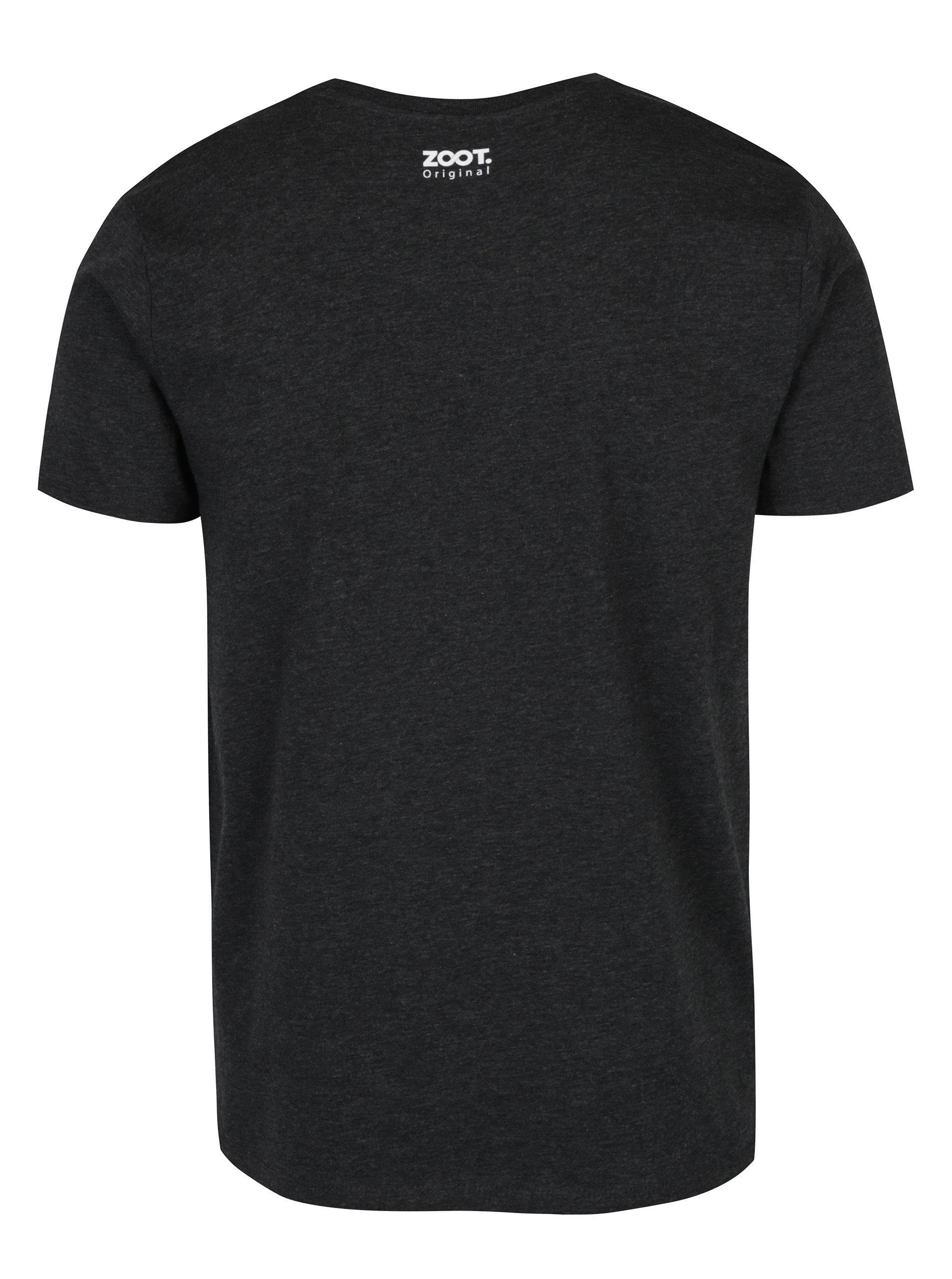 Tmavě šedé pánské tričko ZOOT Originál Genius ... 8467b2a7c8