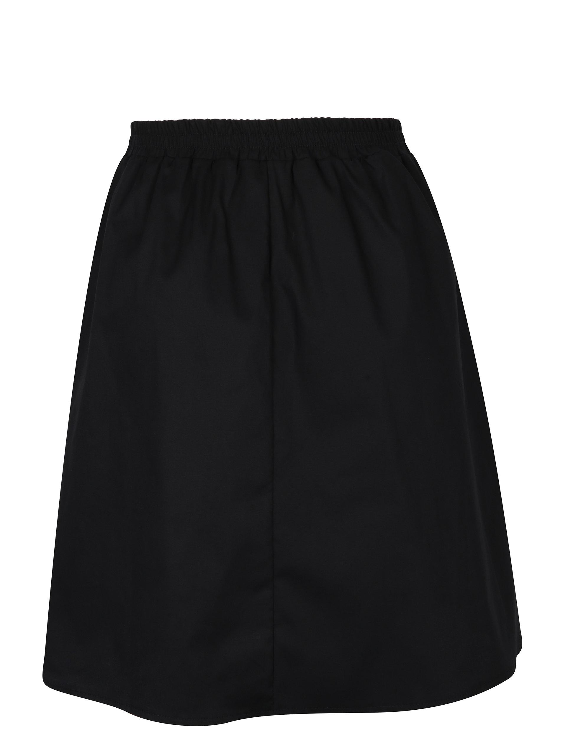03f54c68609 Černá sukně s kapsami ZOOT ...