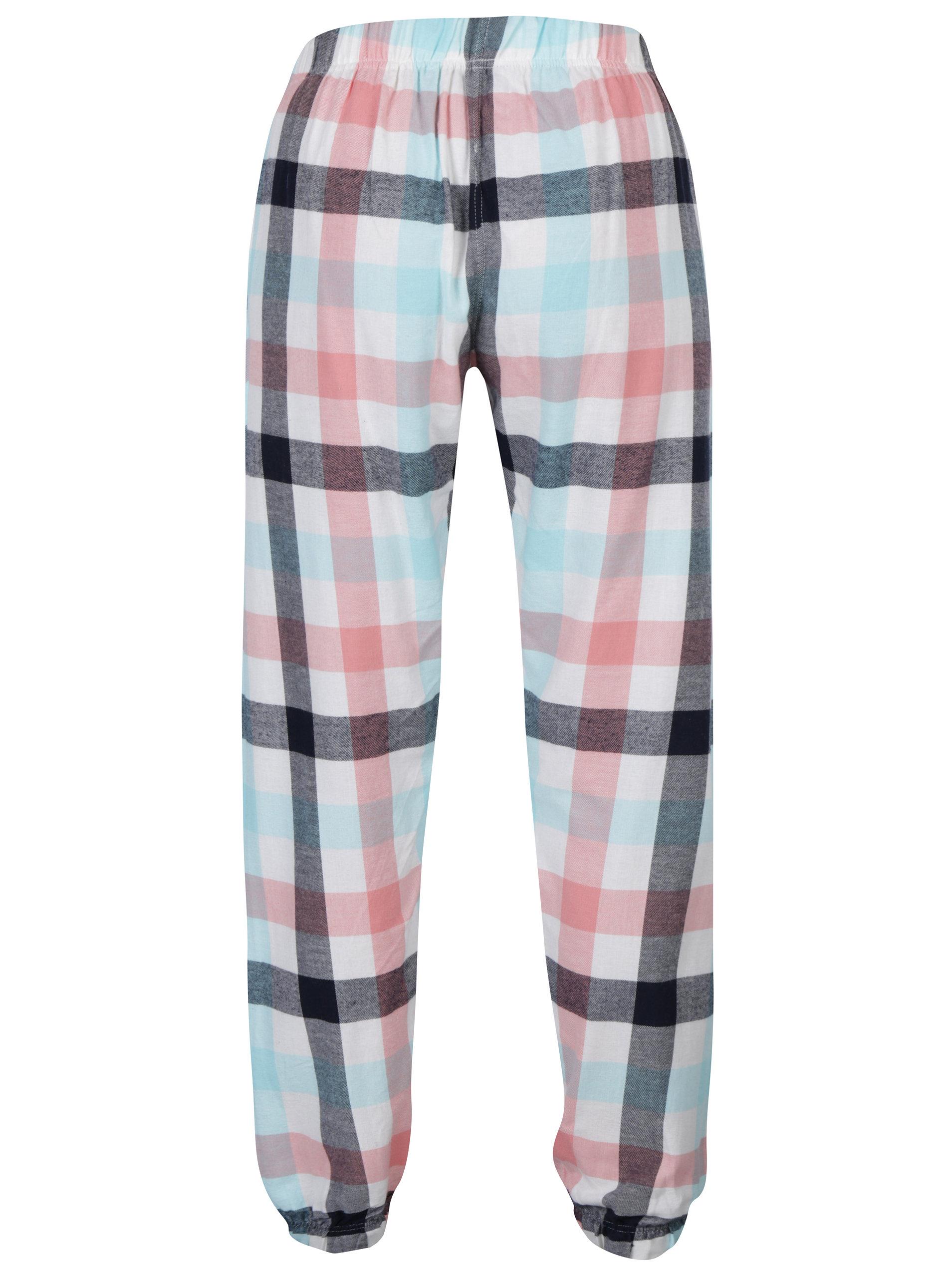 Růžové kostkované pyžamové kalhoty Dorothy Perkins ... 2e38a8b187
