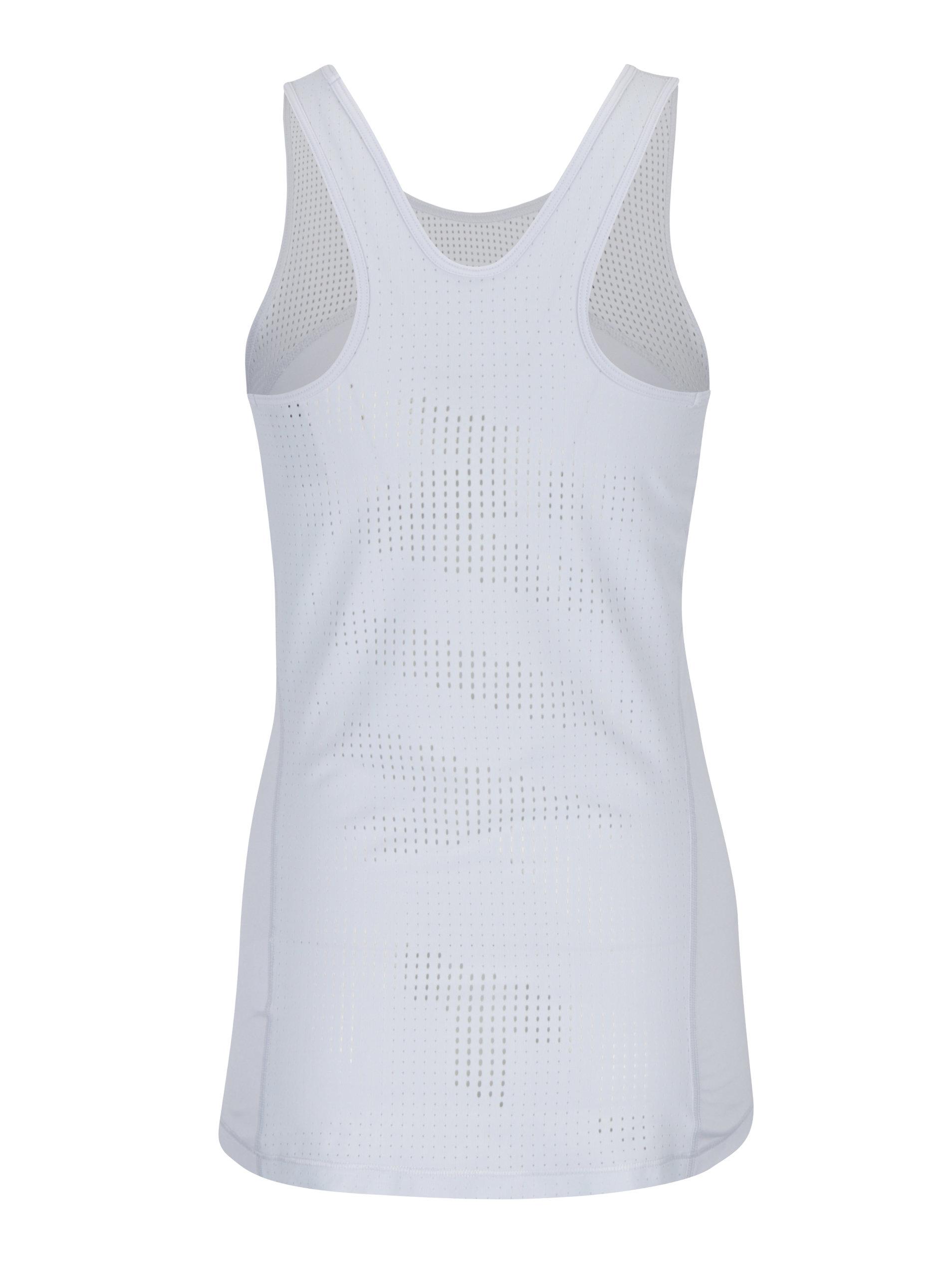 6b4562489dcd Svetlosivé dámske funkčné tielko Nike ...