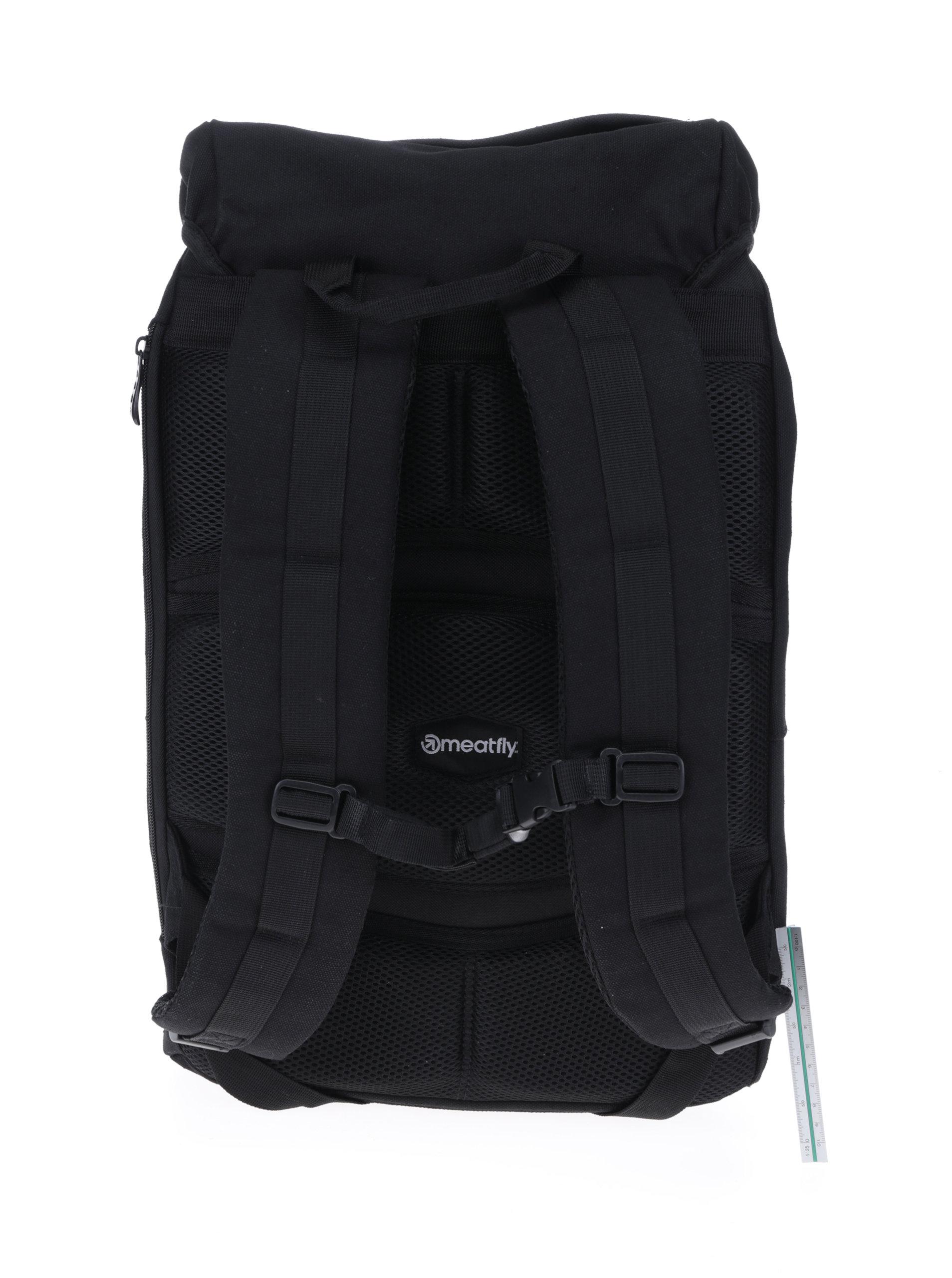 9fd452dda75 Černý batoh Meatfly Pioneer 2 26 l - Akční cena