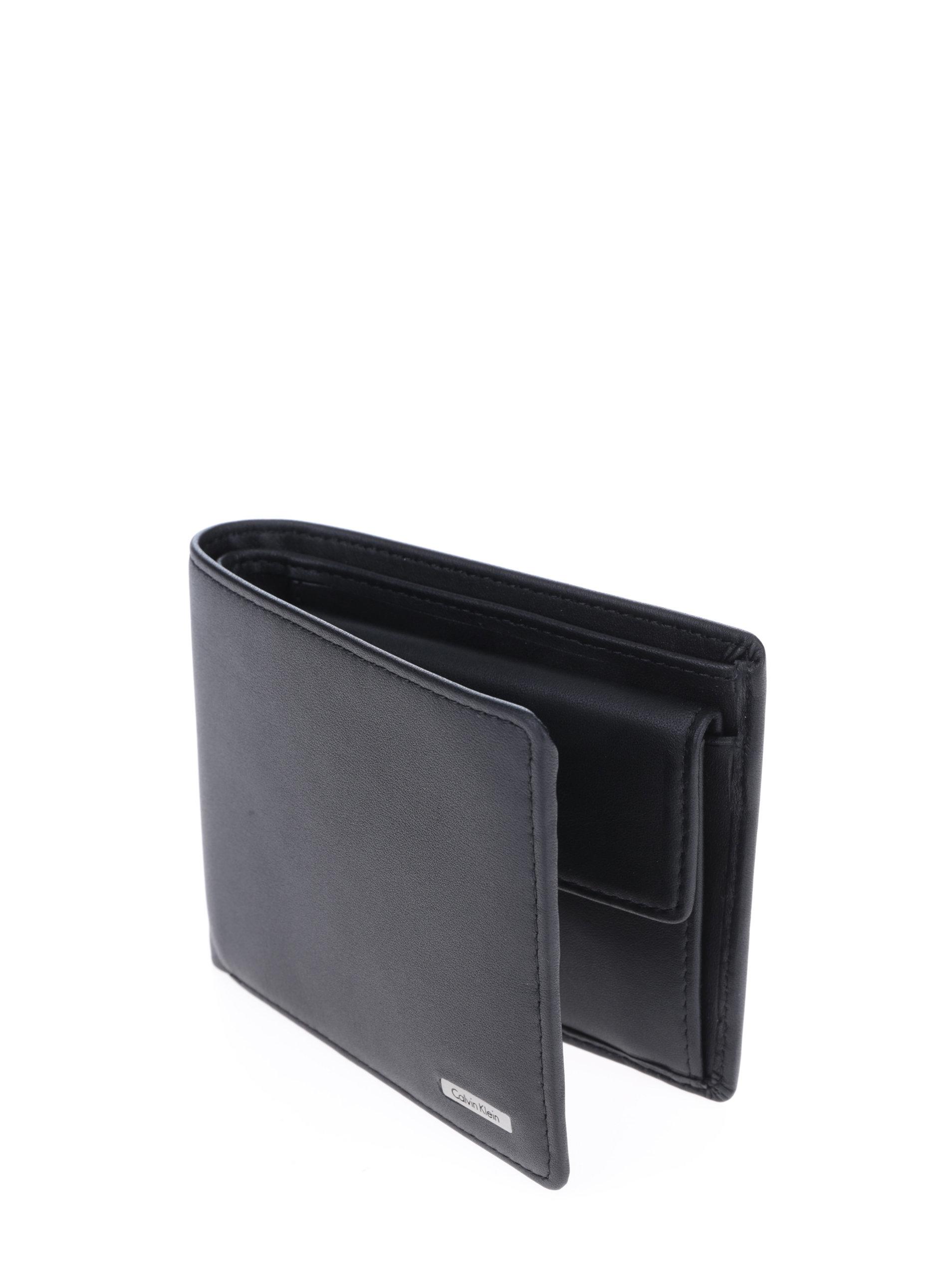 Černá pánská kožená peněženka Calvin Klein Rail ... 1aaaa872041