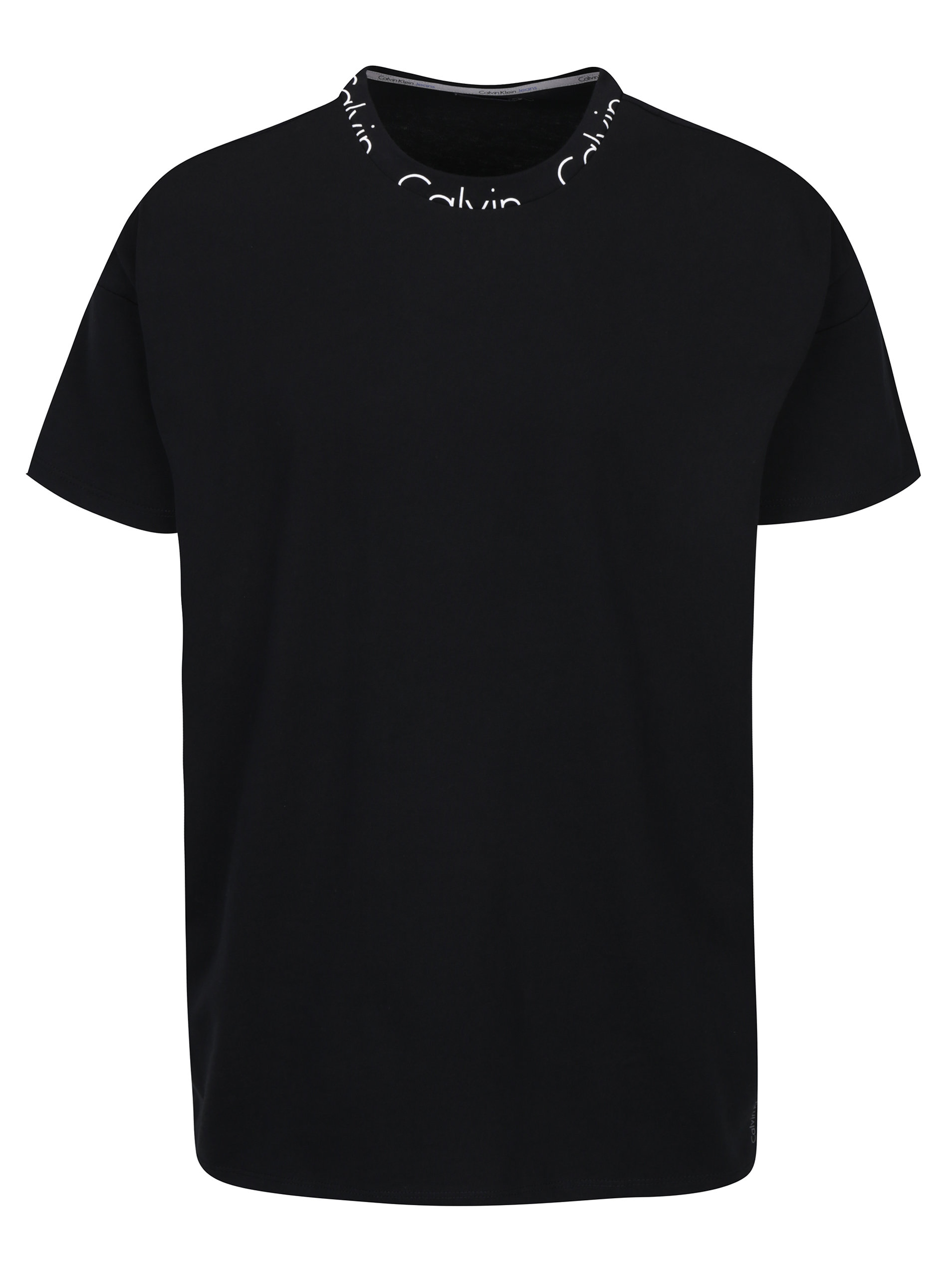 2f851f5c5 Čierne pánske tričko Calvin Klein Jeans Biro   ZOOT.sk