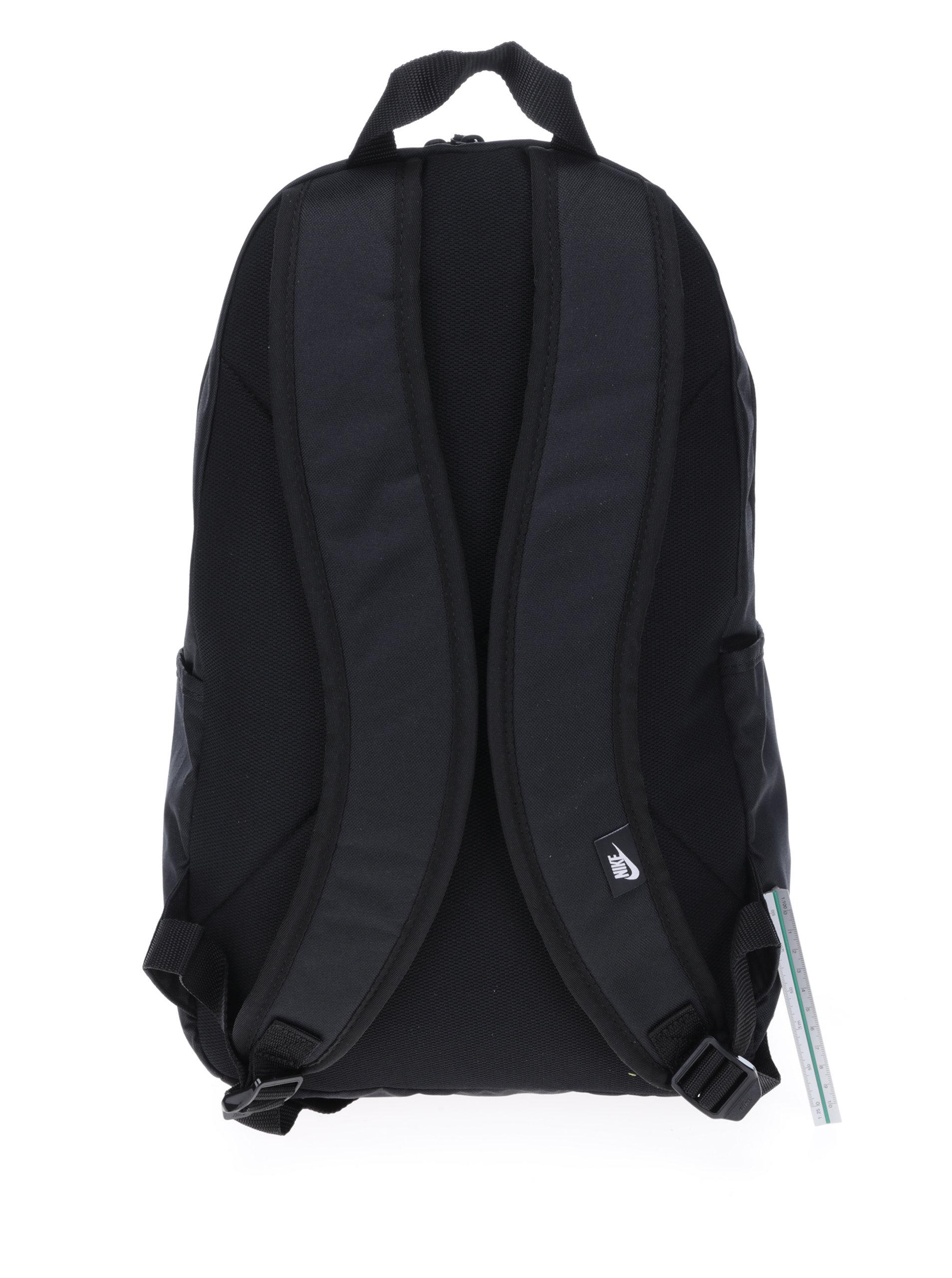bc6f6ed5b5 Čierny batoh s potlačou Nike Elemental ...