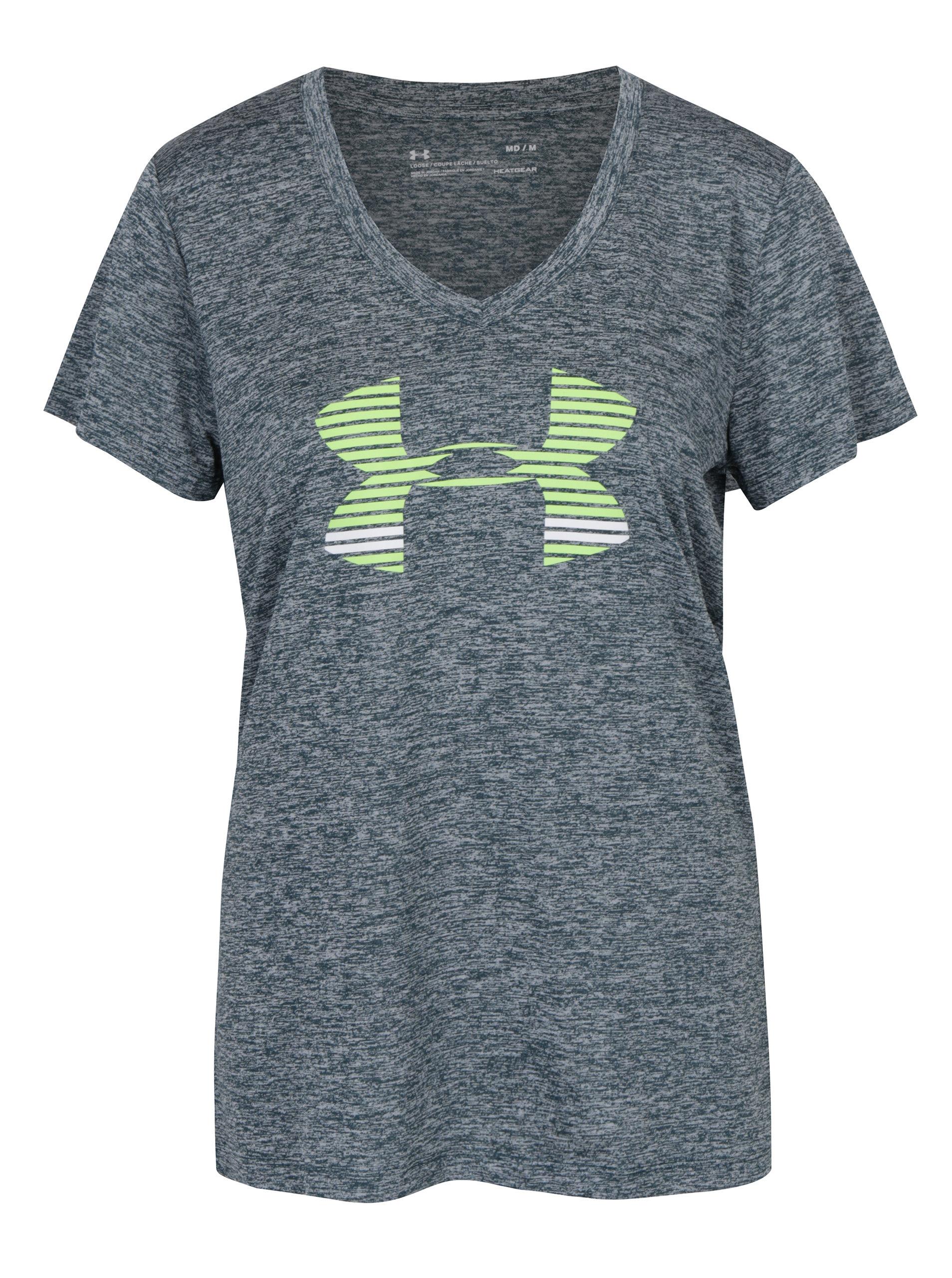 Zelené dámske funkčné tričko s krátkym rukávom Under Armour ... 4503ee1f5e3