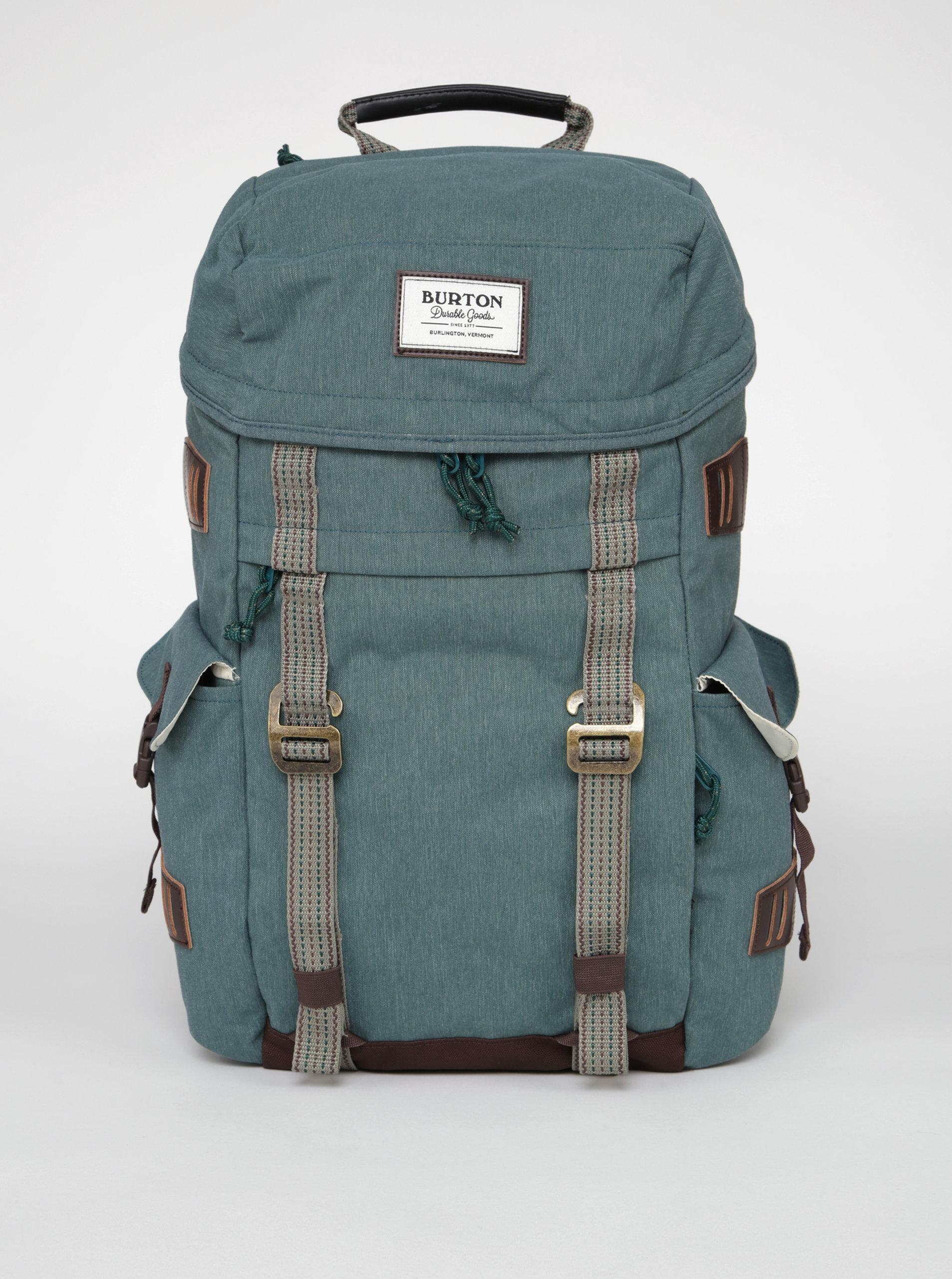 Zelený žíhaný batoh Burton Annex 28 l ... d6312768ed