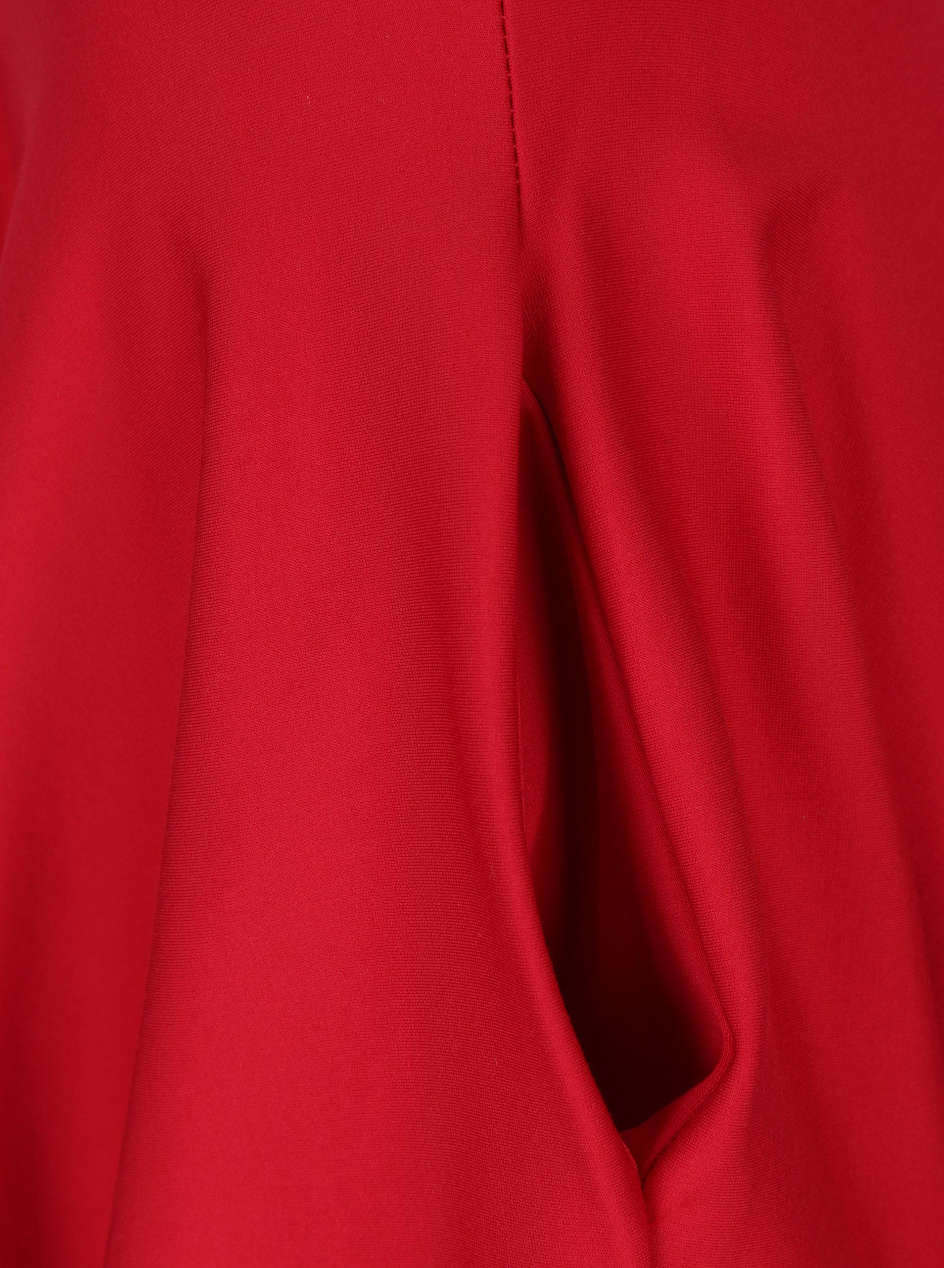 96e797d74b52 Červená kolová sukně s kapsami ZOOT ...