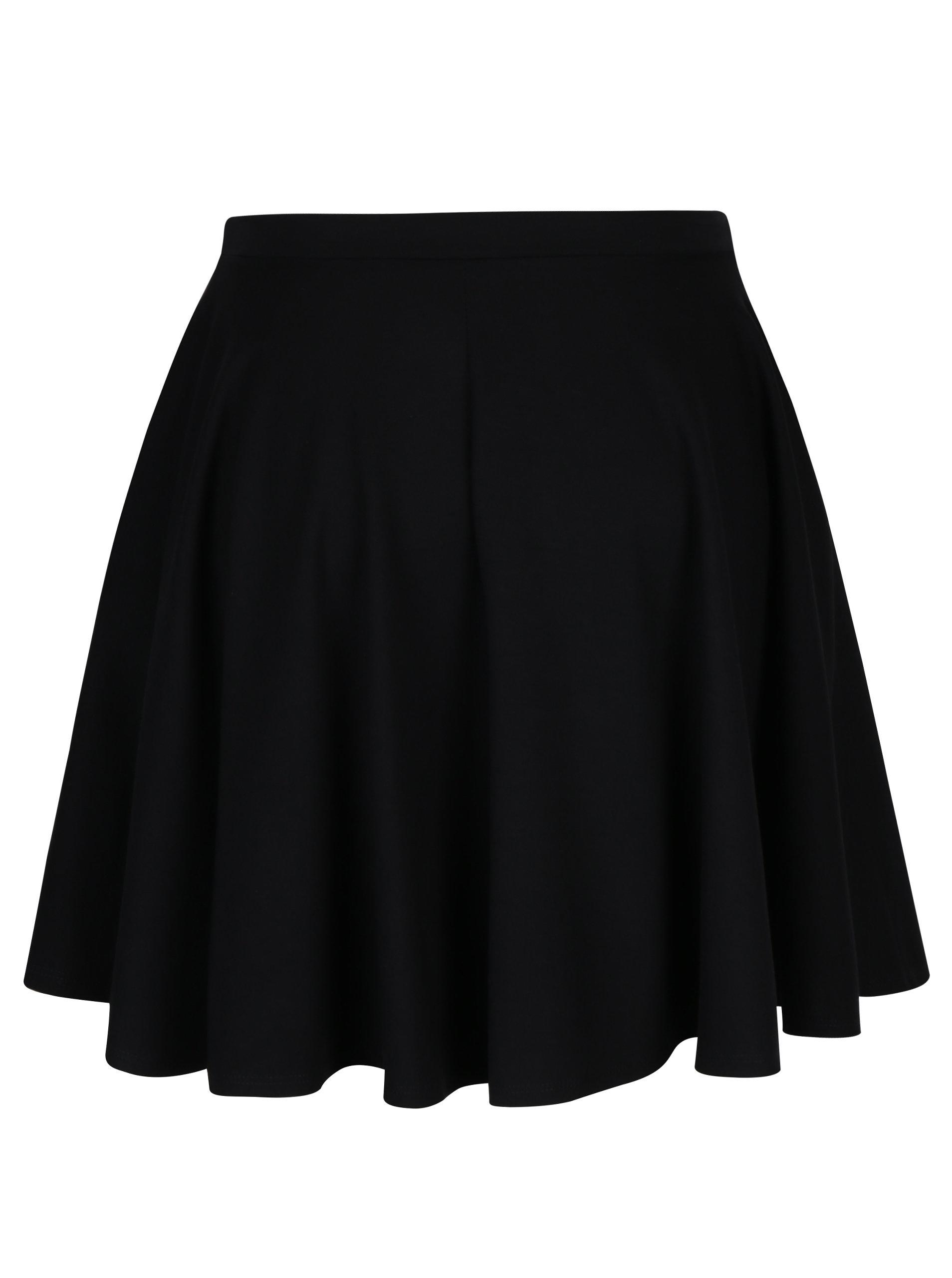 3f0f1439cb9 Černá kolová sukně s kapsami ZOOT ...