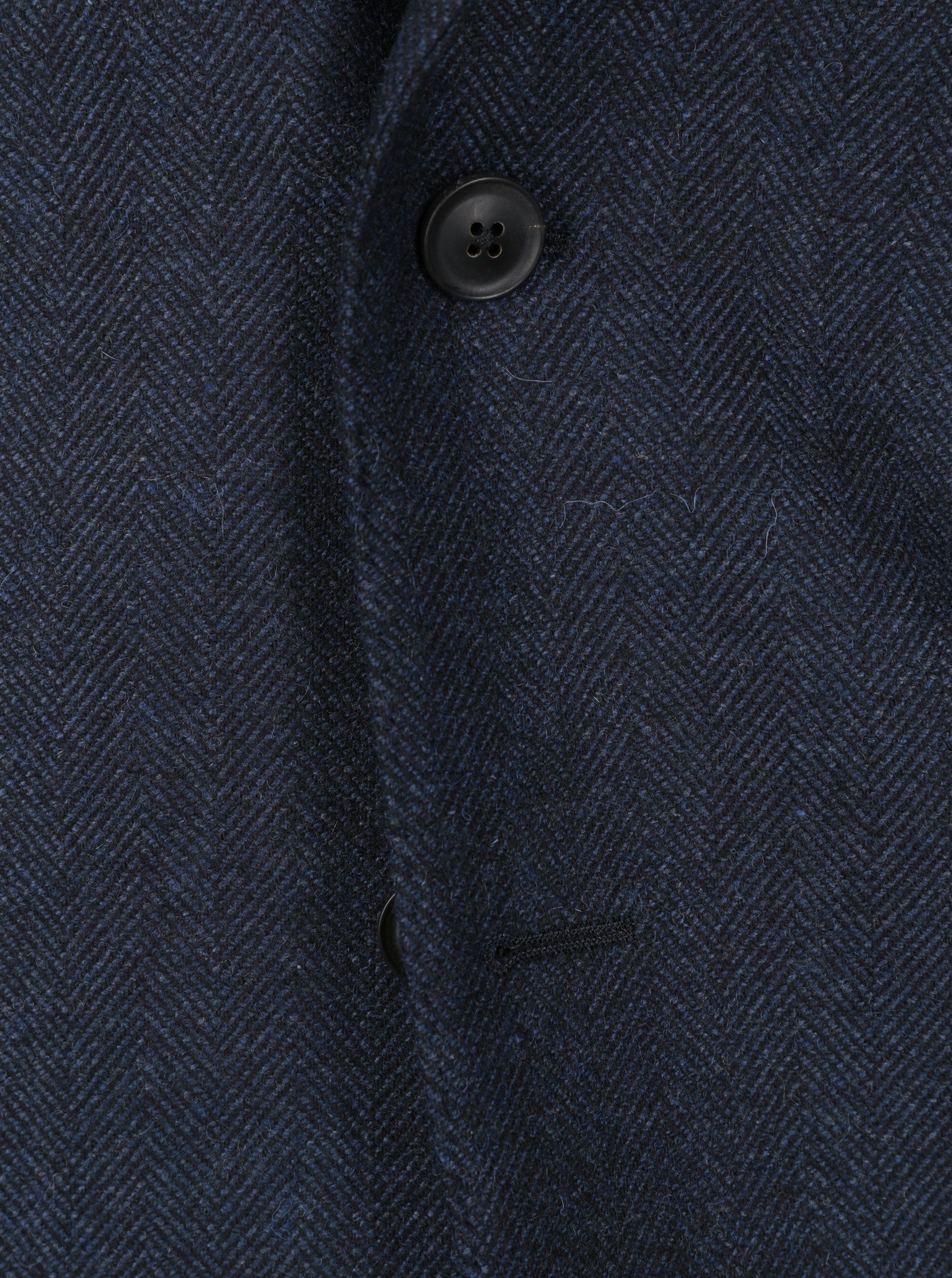 de9d2e6fcce0 Tmavě modré pánské vlněné sako GANT ...