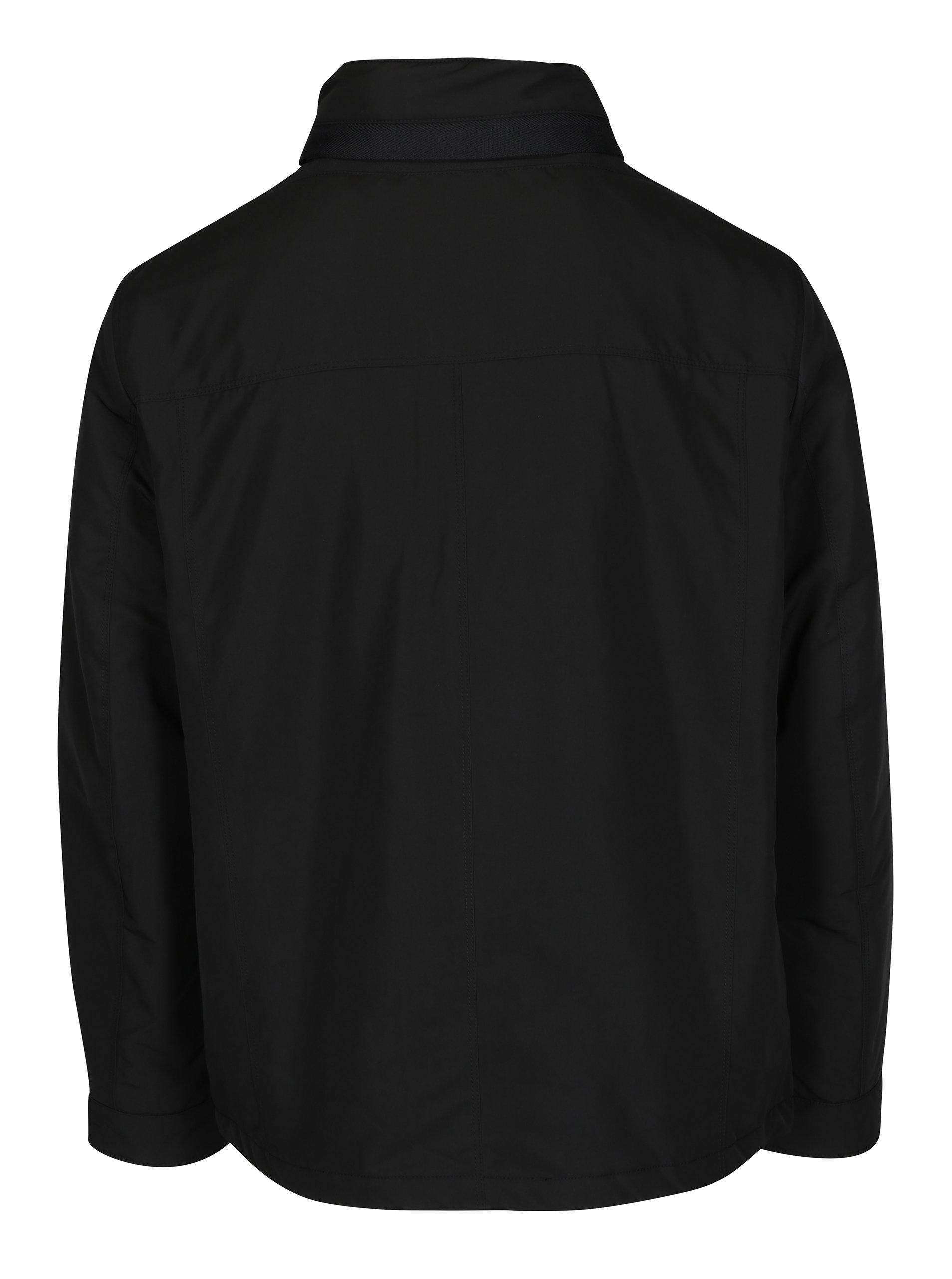 Černá pánská bunda s kapucí Geox ... b9e982e8eb0
