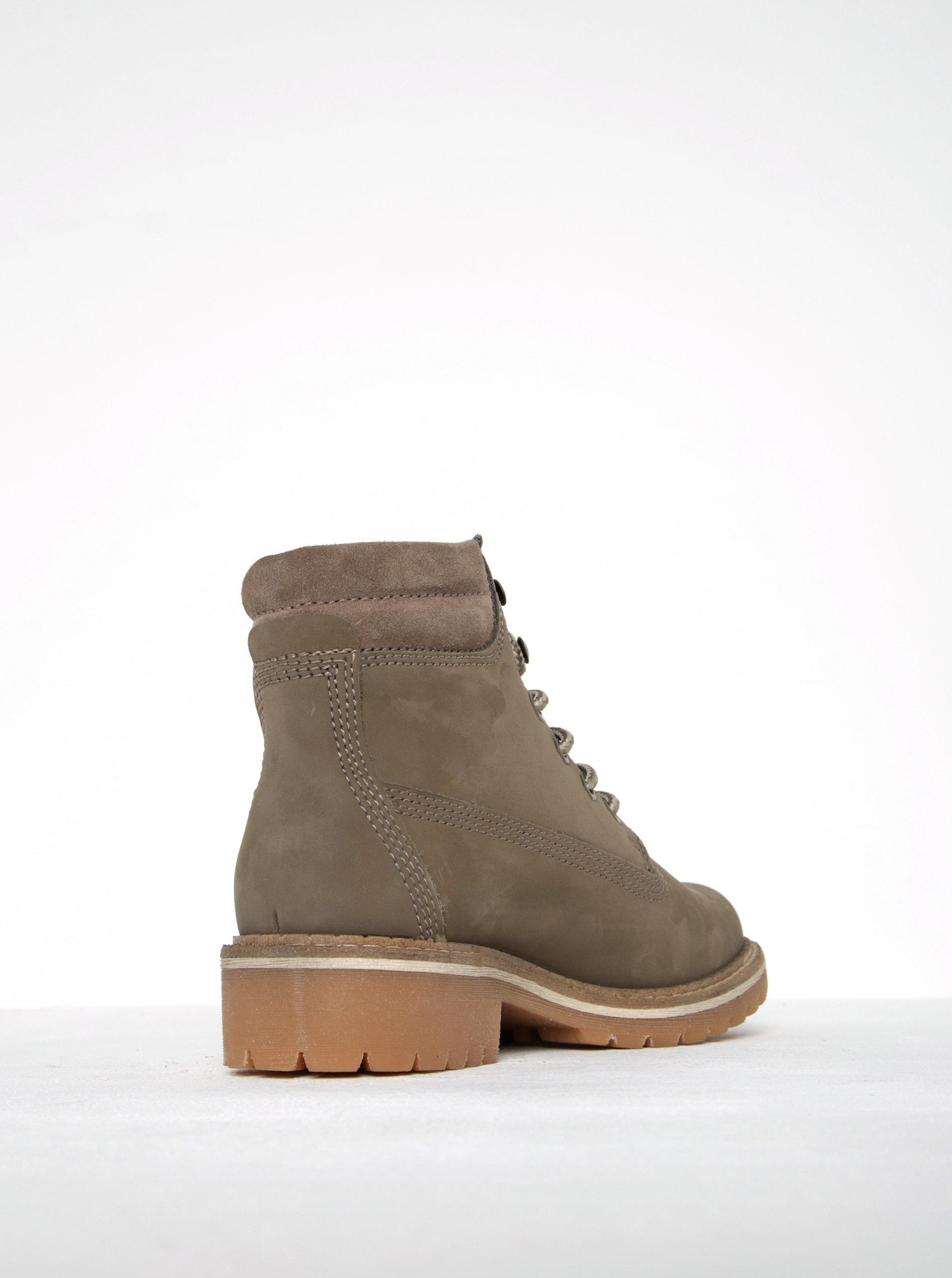 1a3443a0c03cf Béžové kožené členkové topánky Tamaris   ZOOT.sk