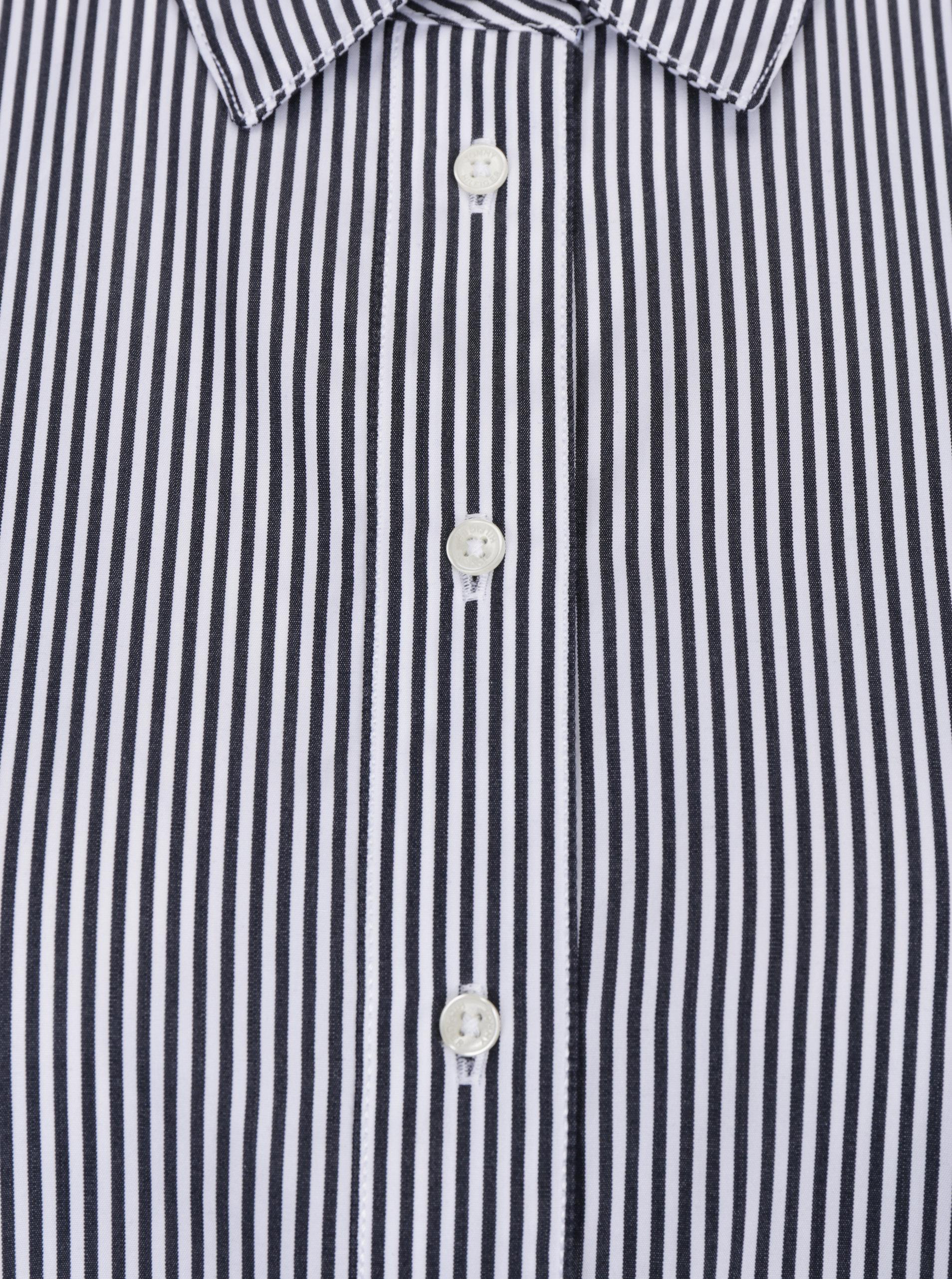 Bielo-čierna dámska pruhovaná košeľa Tommy Hilfiger ... 66e0fed74cd