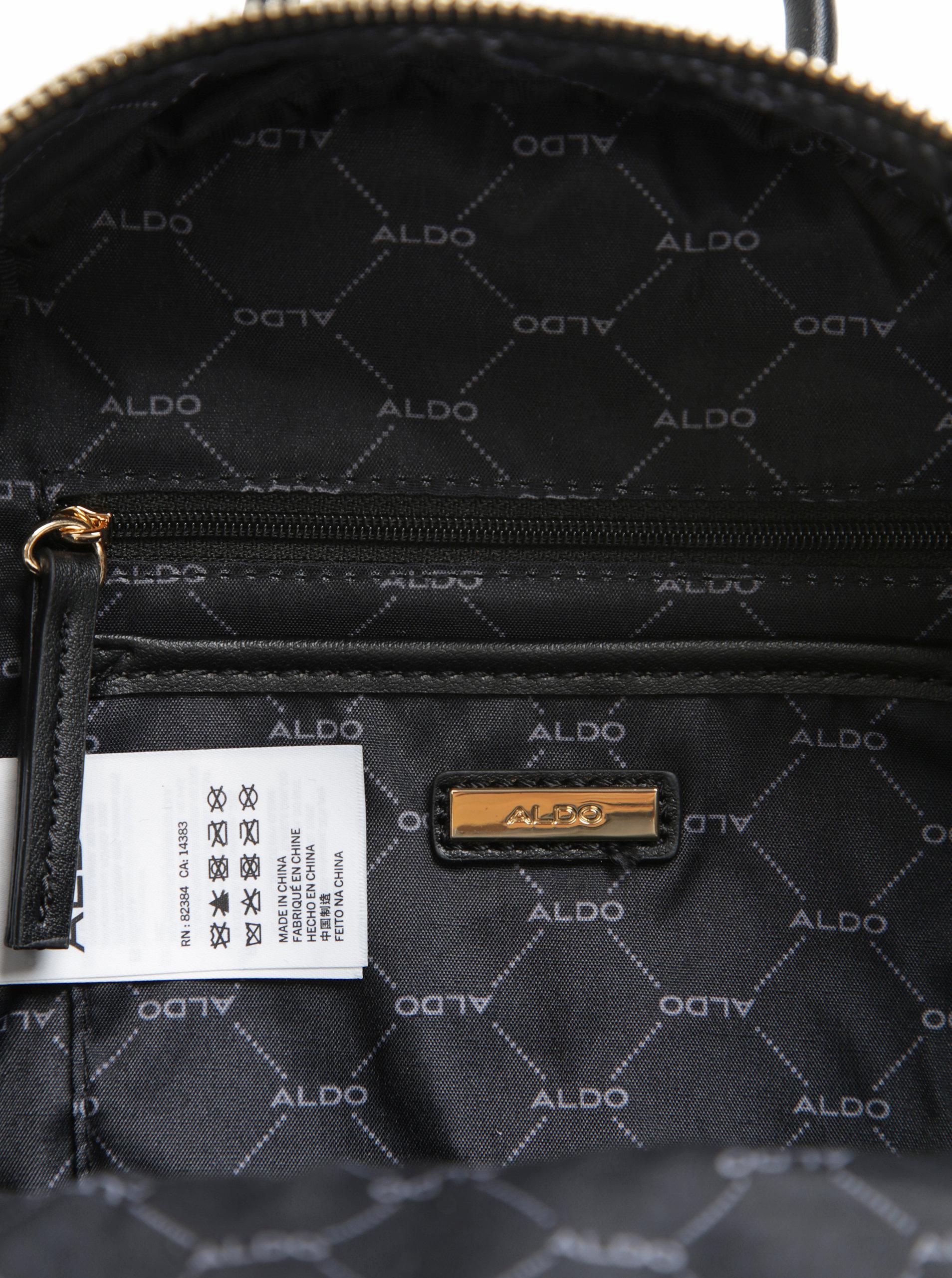 9d5a2142e3df8 Čierny dámsky malý prešívaný zamatový batoh ALDO Edroiana | ZOOT.sk