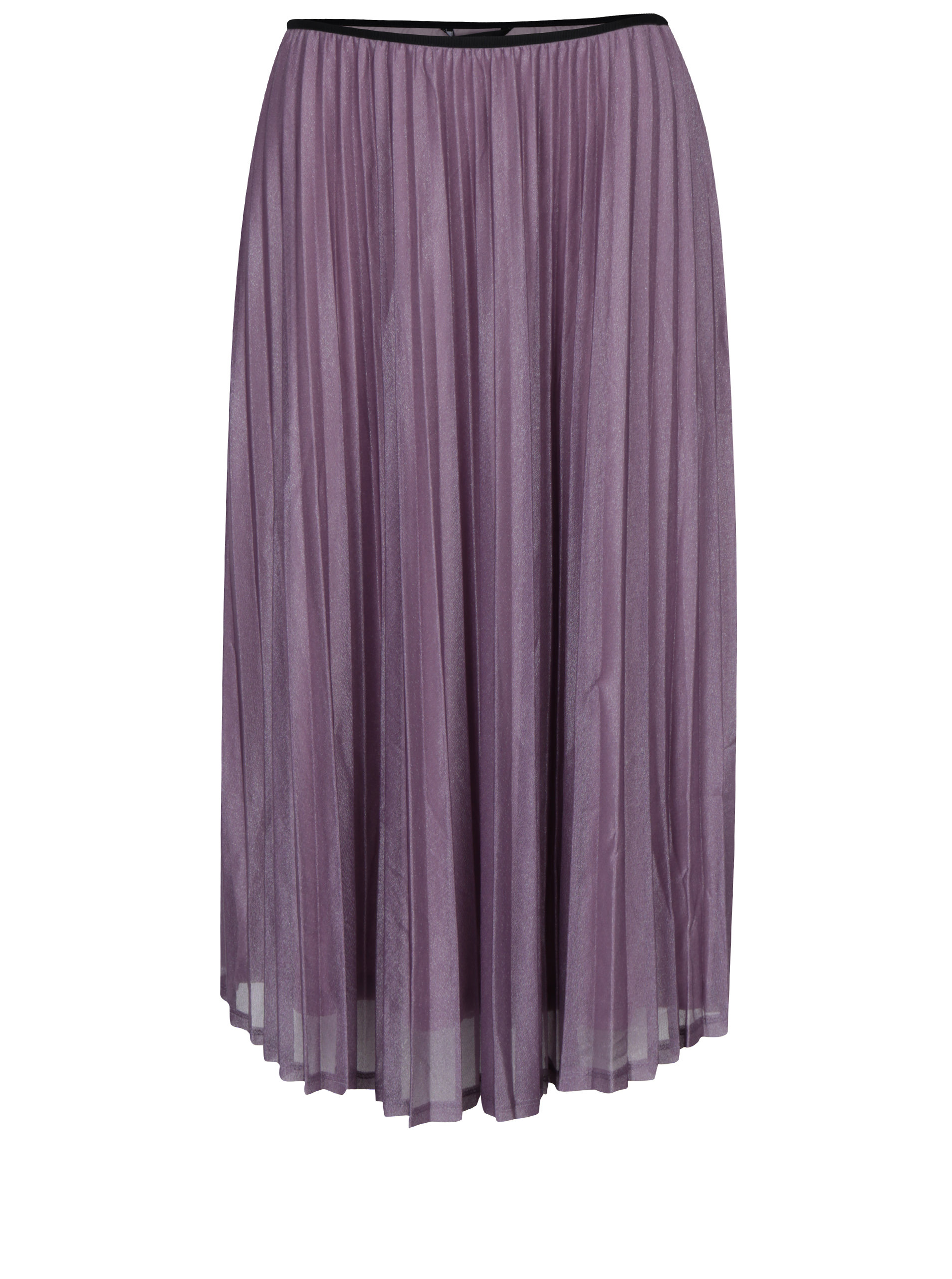 efd158f1182c Svetlofialová plisovaná sukňa VERO MODA Glitzy ...