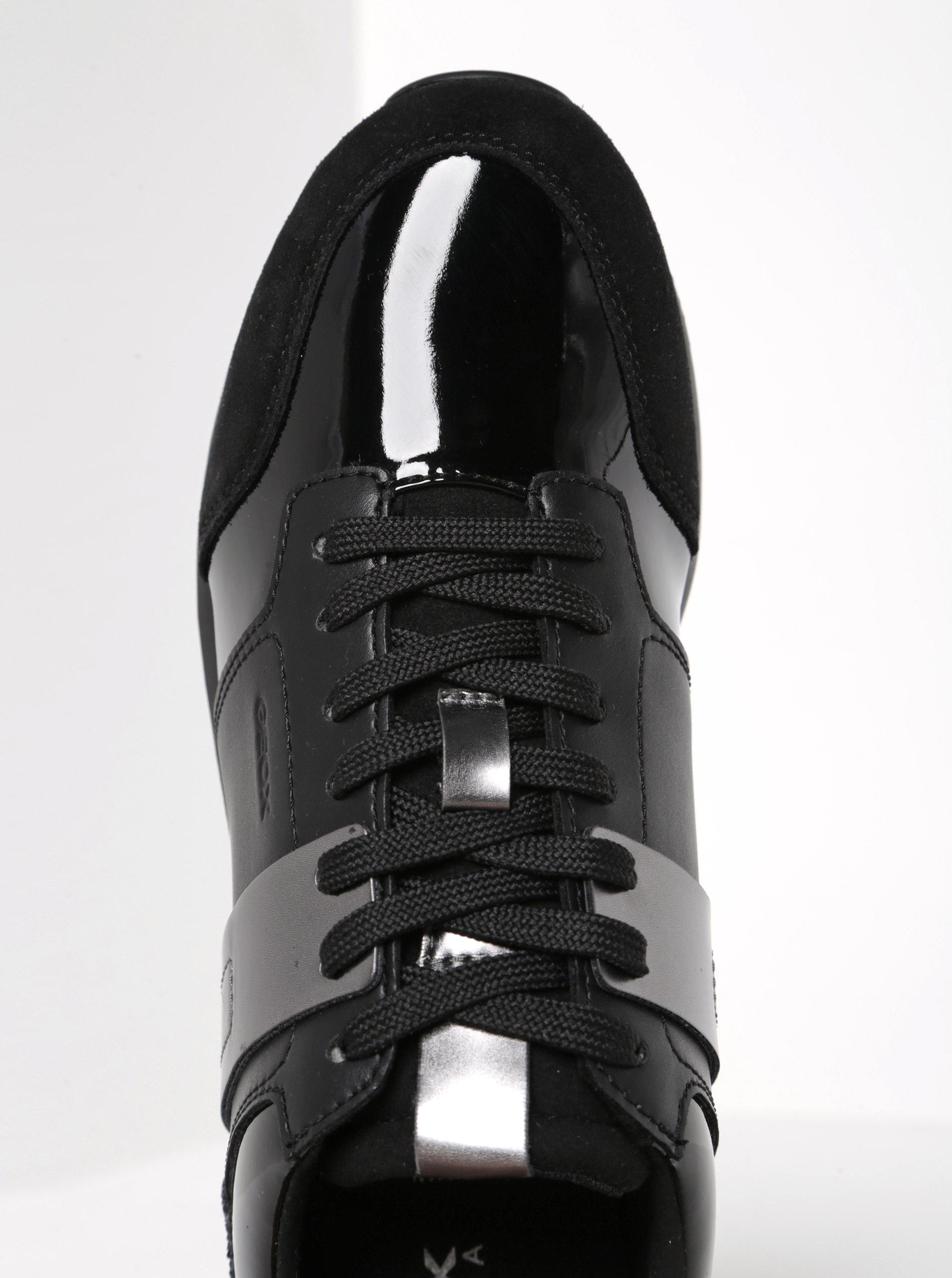 Čierne dámske tenisky Geox Deynna ... c23cd594c1