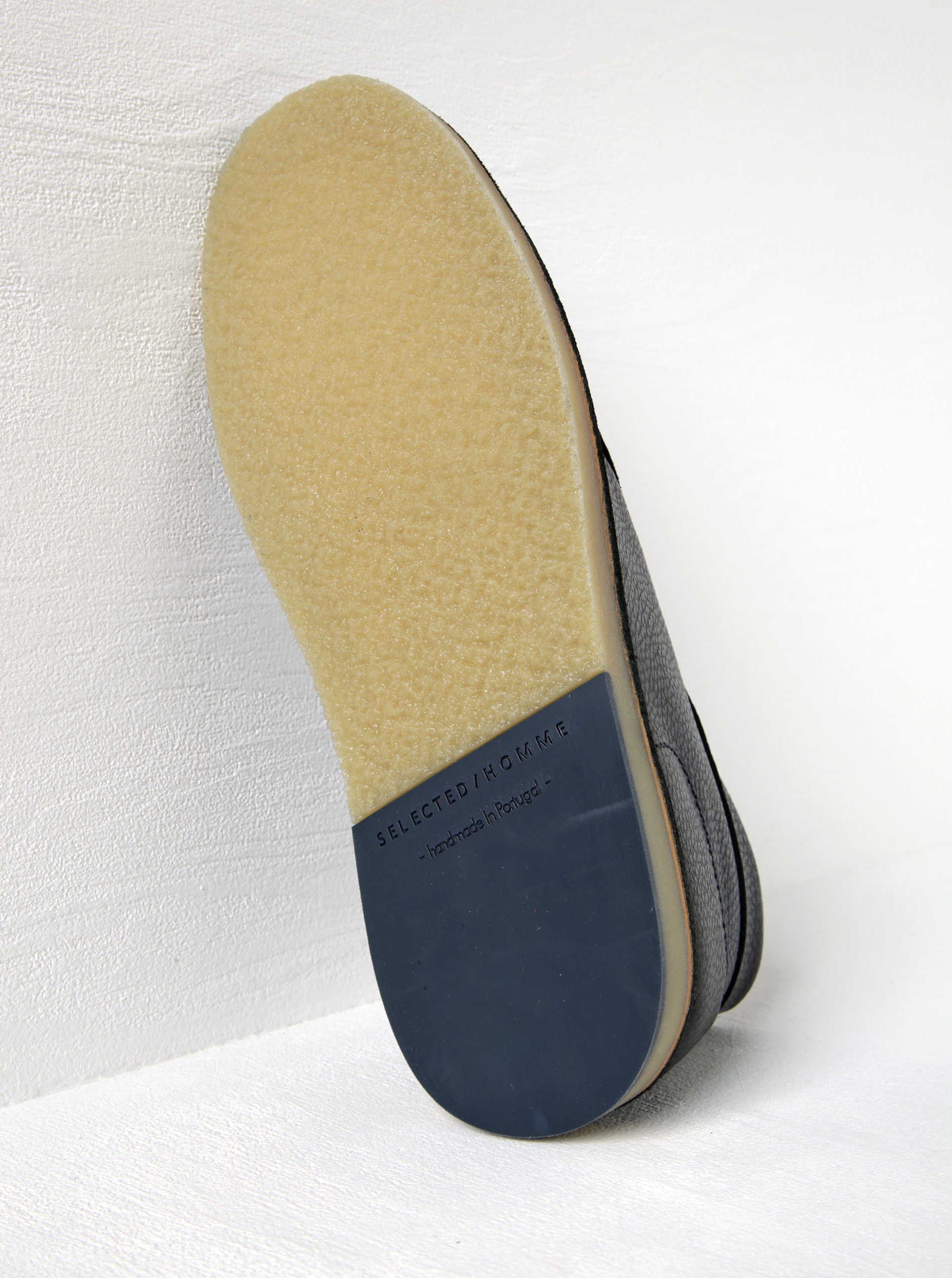 f3c7520500 Tmavomodré kožené členkové topánky Selected Homme Ronni ...