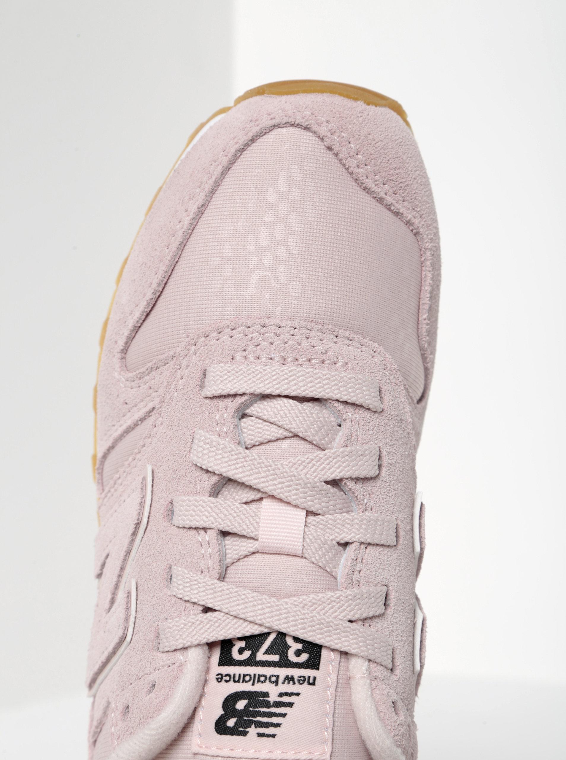 Růžové dámské tenisky New Balance ... db3c596a31