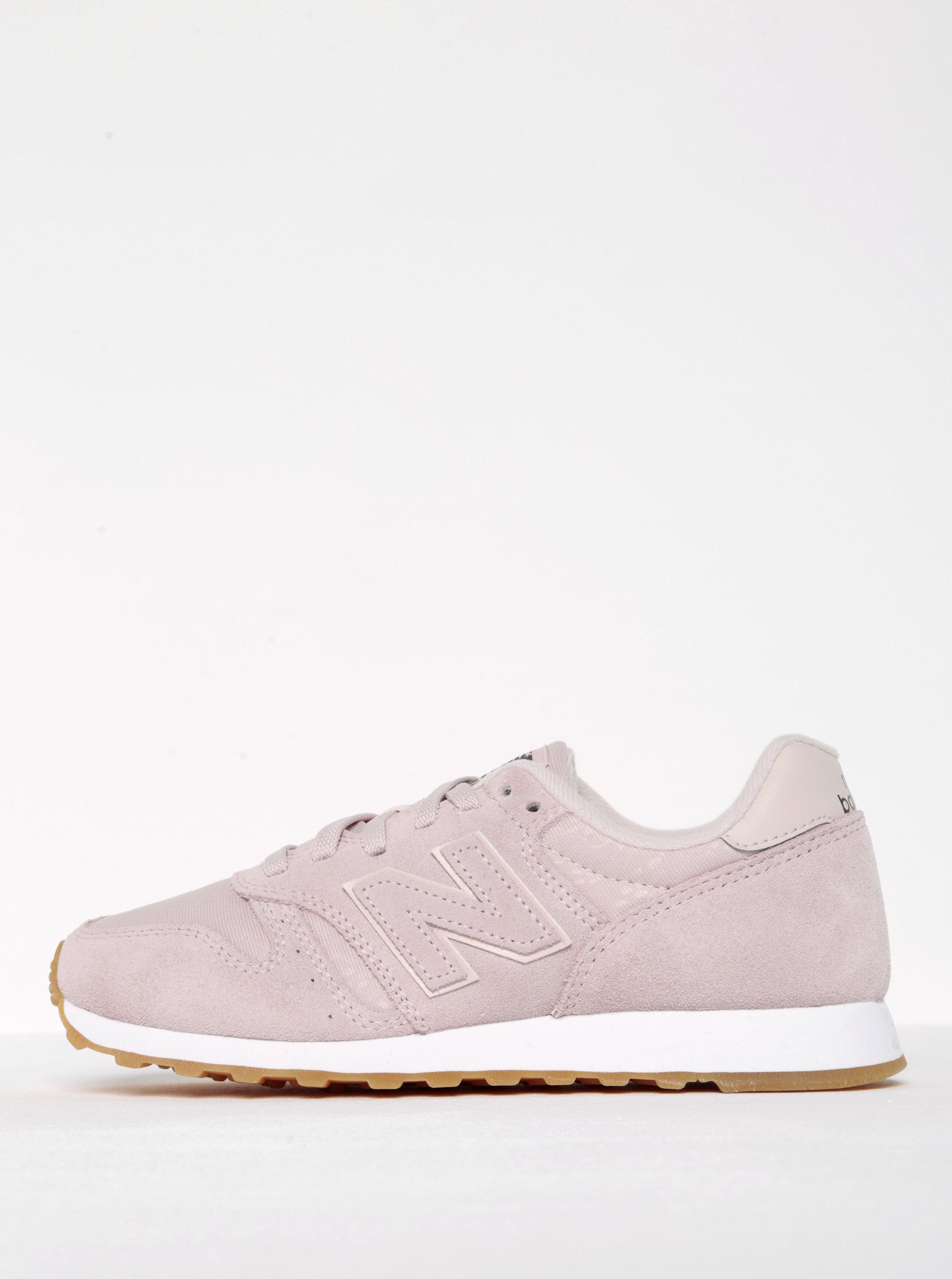 Ružové dámske tenisky New Balance ... e67f2ecc52