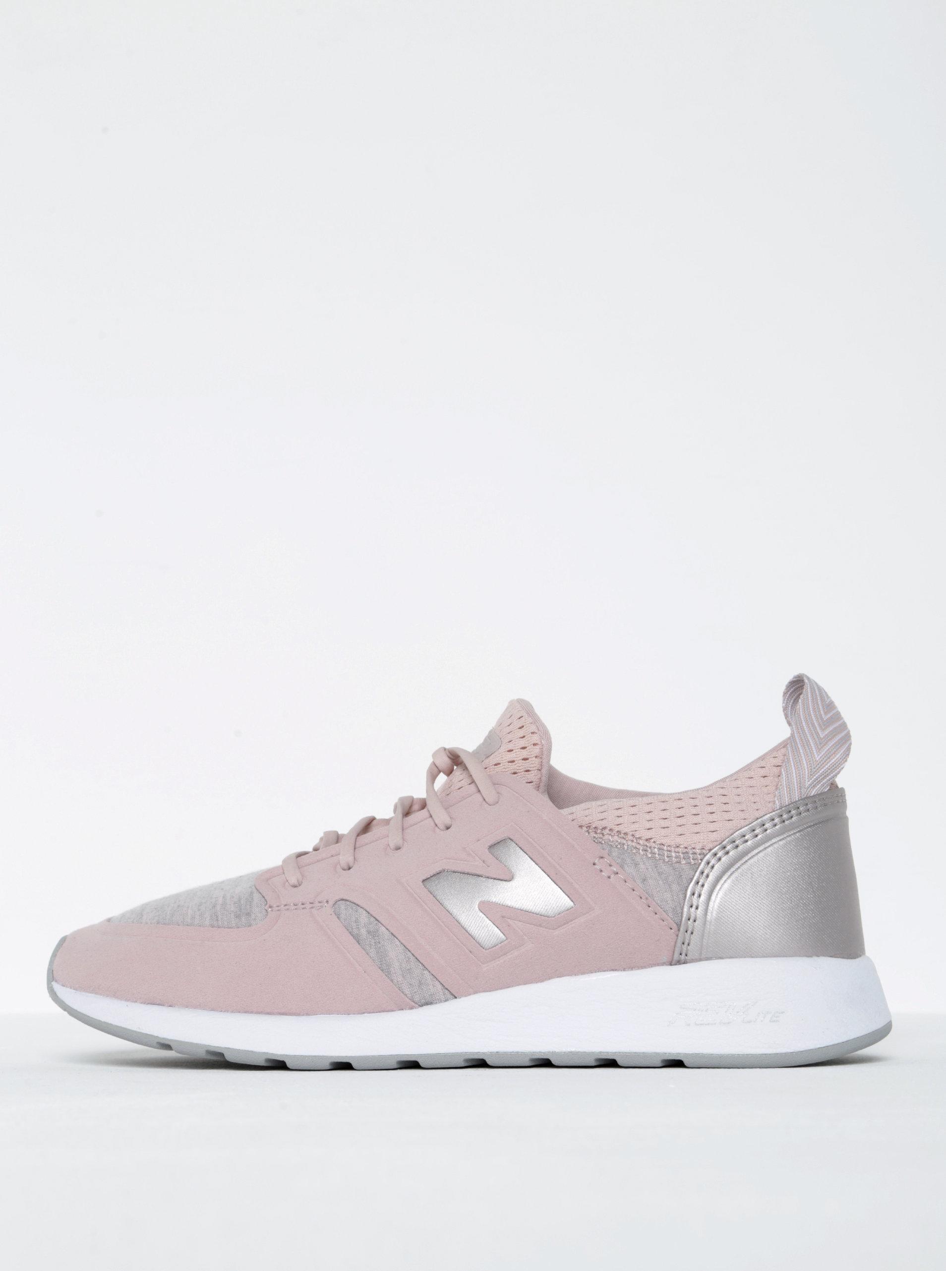 04893d250c7 Světle růžové dámské tenisky New Balance ...