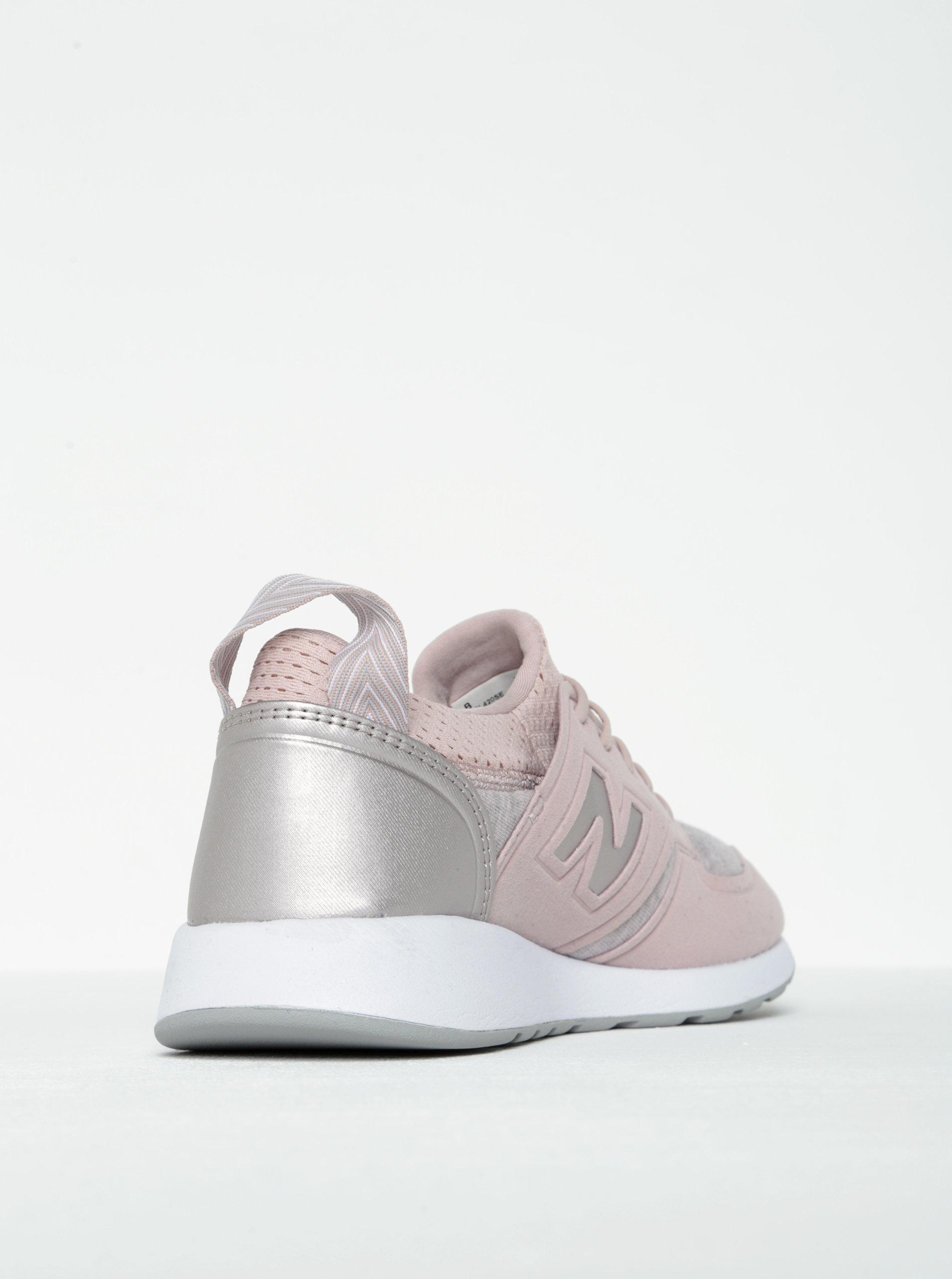 Světle růžové dámské tenisky New Balance ... 013c974238