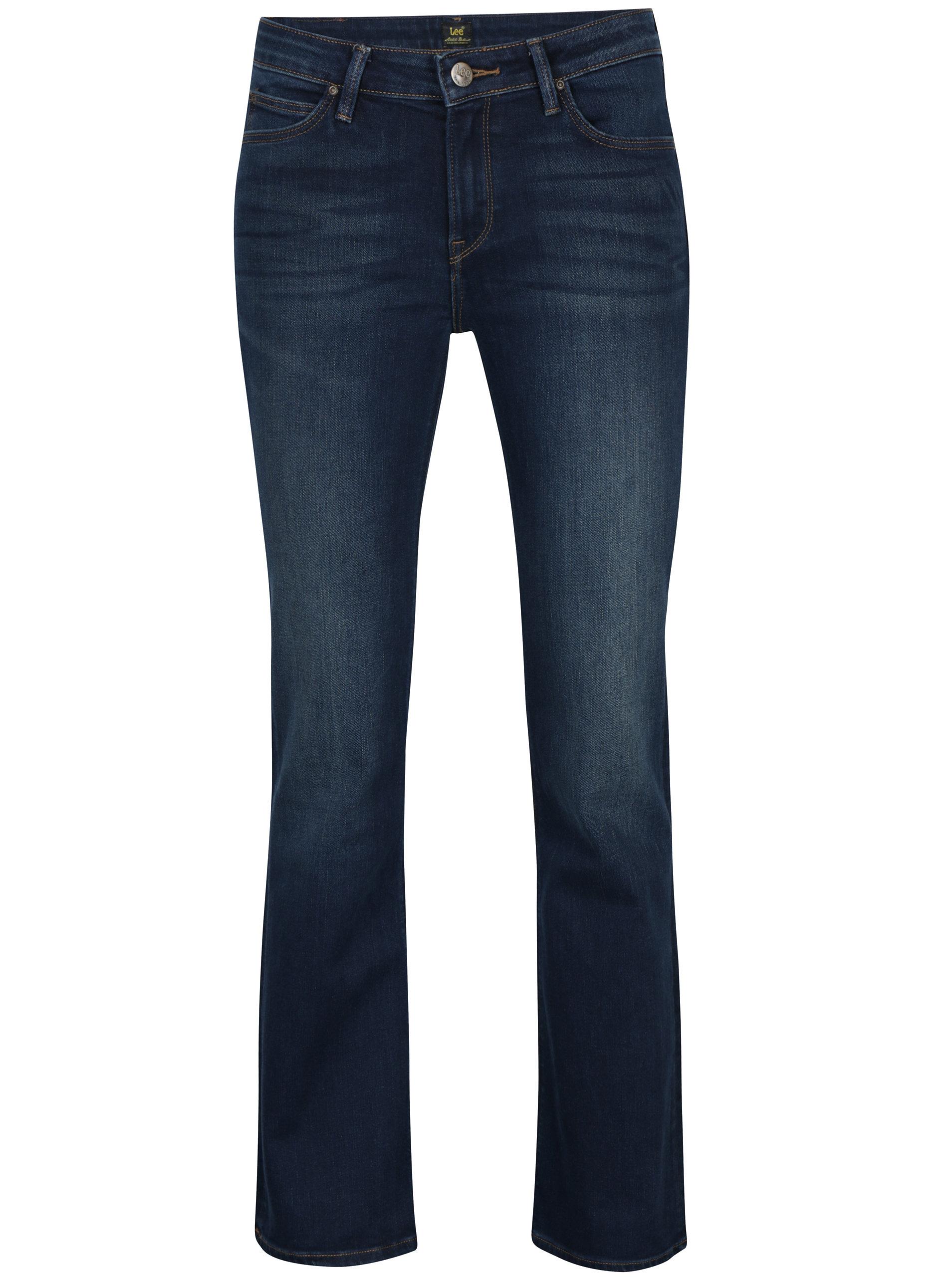 Tmavě modré dámské bootcut džíny Lee Hoxie ... 1e888d8aaf
