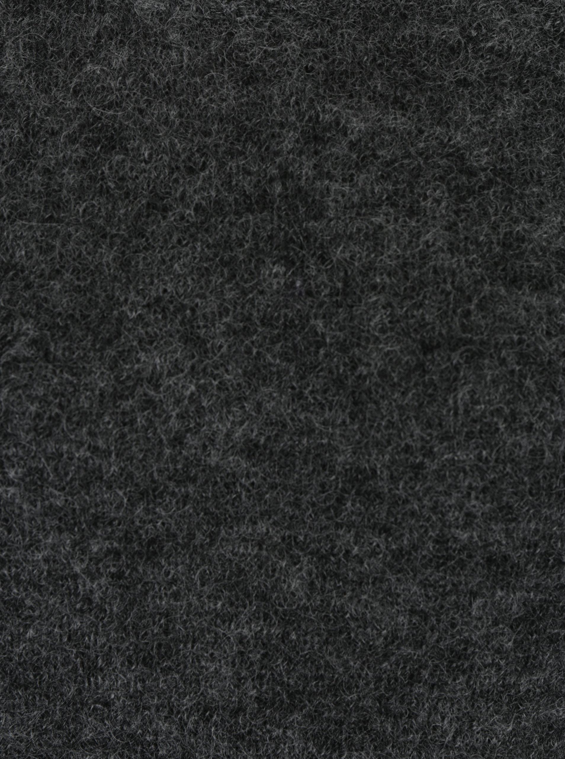 2c35f94f8213 Tmavosivý melírovaný vlnený sveter s prímesou mohéru Selected Femme Kaila