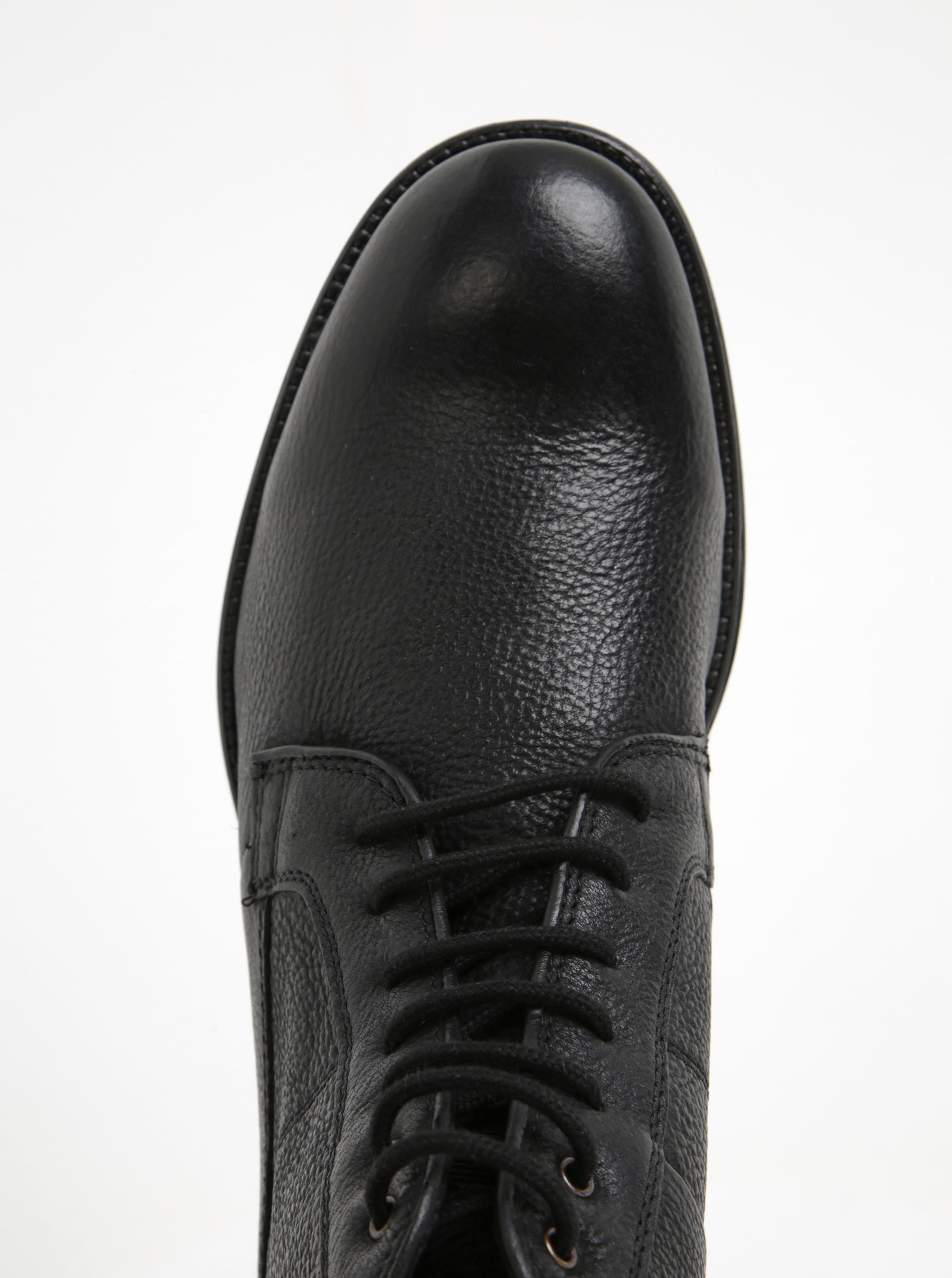 7d006d7b1ee Černé pánské kožené kotníkové boty Geox Jaylon C ...