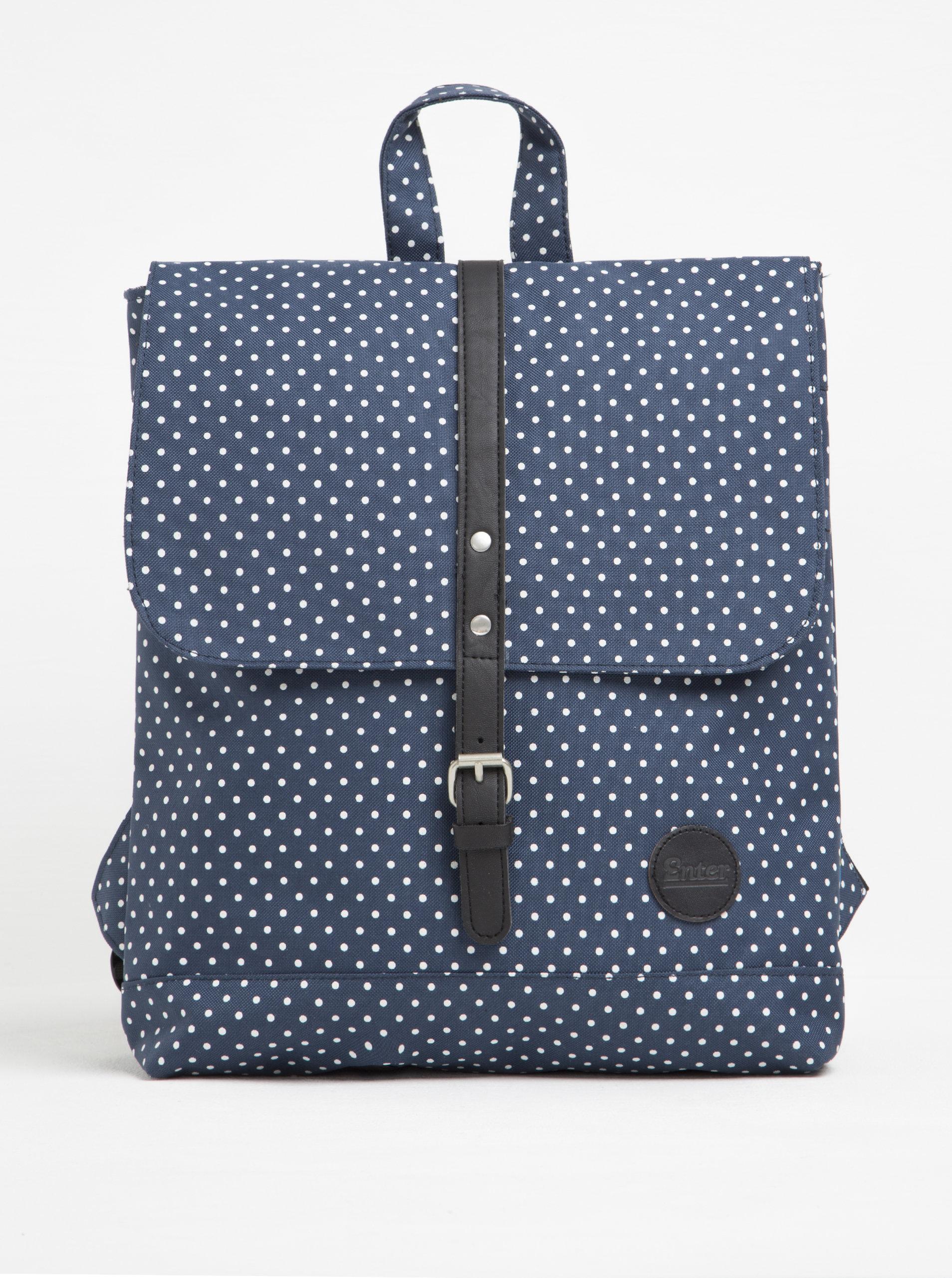 Bílo-modrý batoh Enter Backpack Mini 8 l ... a2f113e476