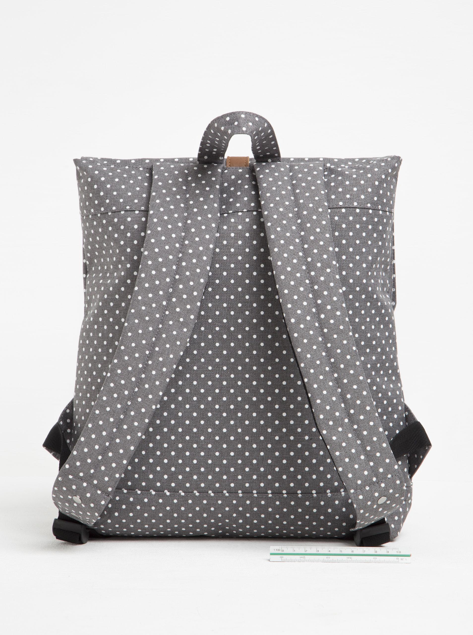 Bílo-šedý batoh Enter Backpack Mini 8 l ... 232c6b7601