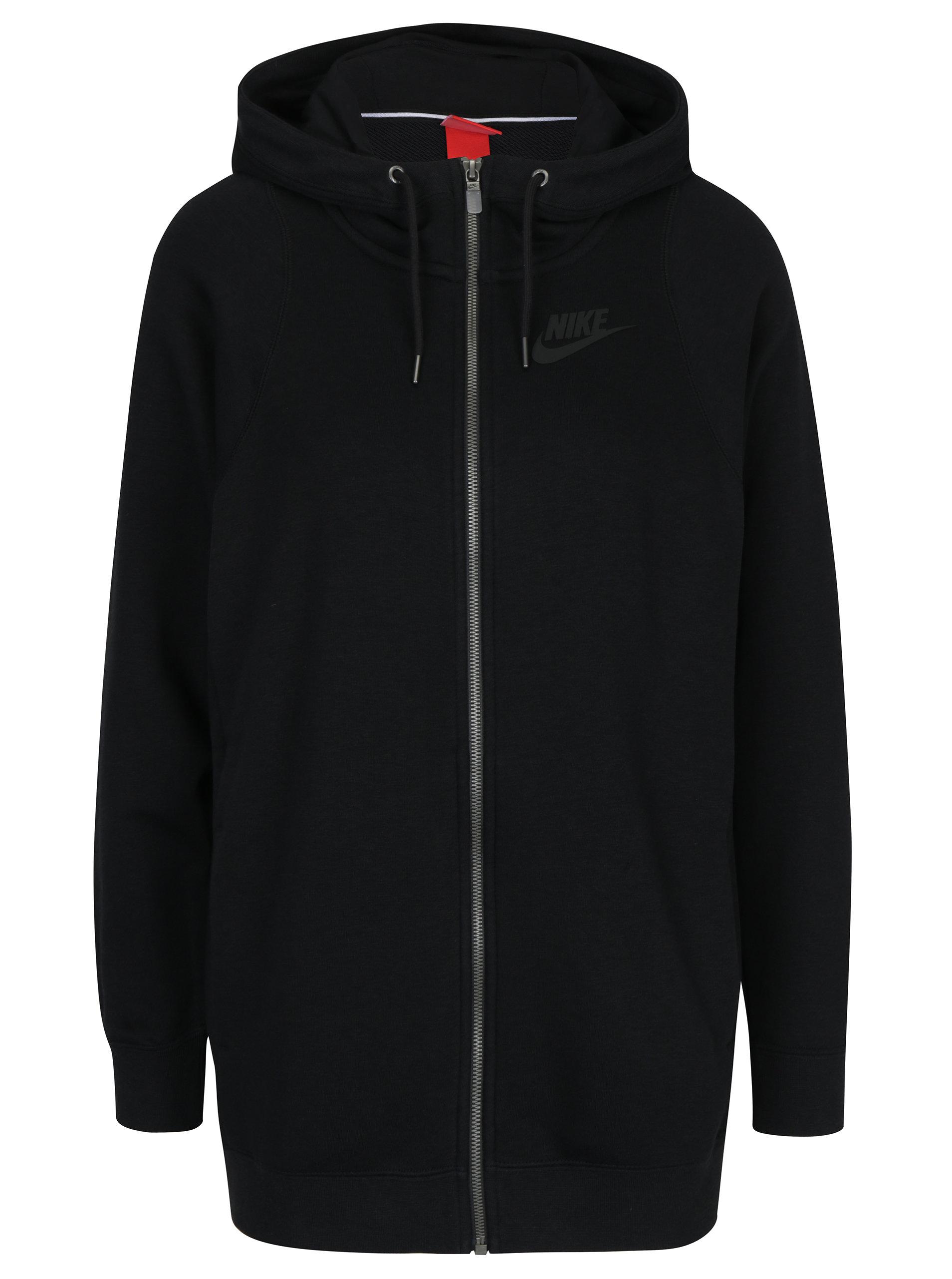 c7e3bef40e Čierna dámska mikina s kapucňou Nike Sportswear Modern ...