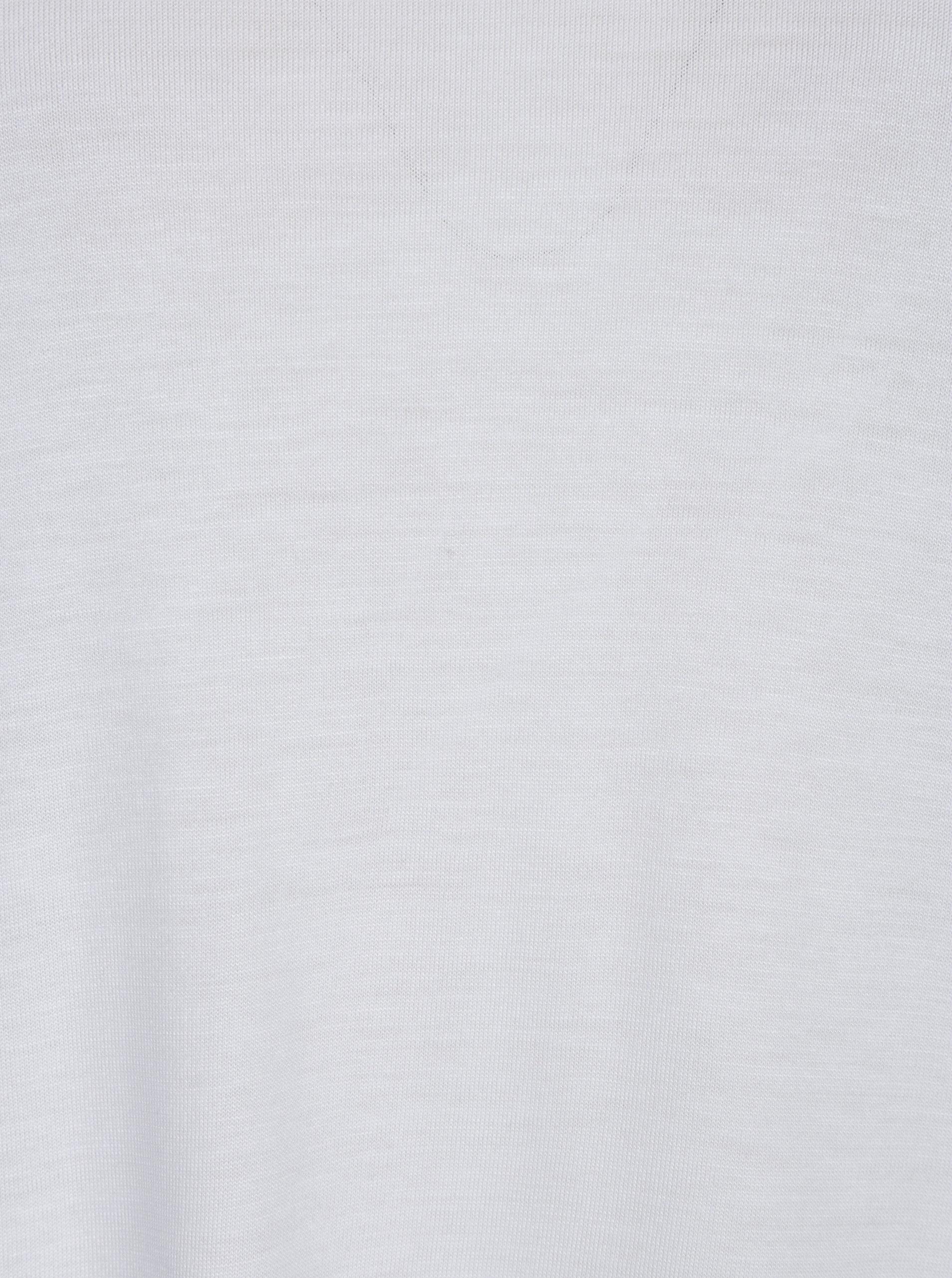 ce32526f517 Bílé dámské volné tričko s průstřihem na zádech Cheap Monday ...