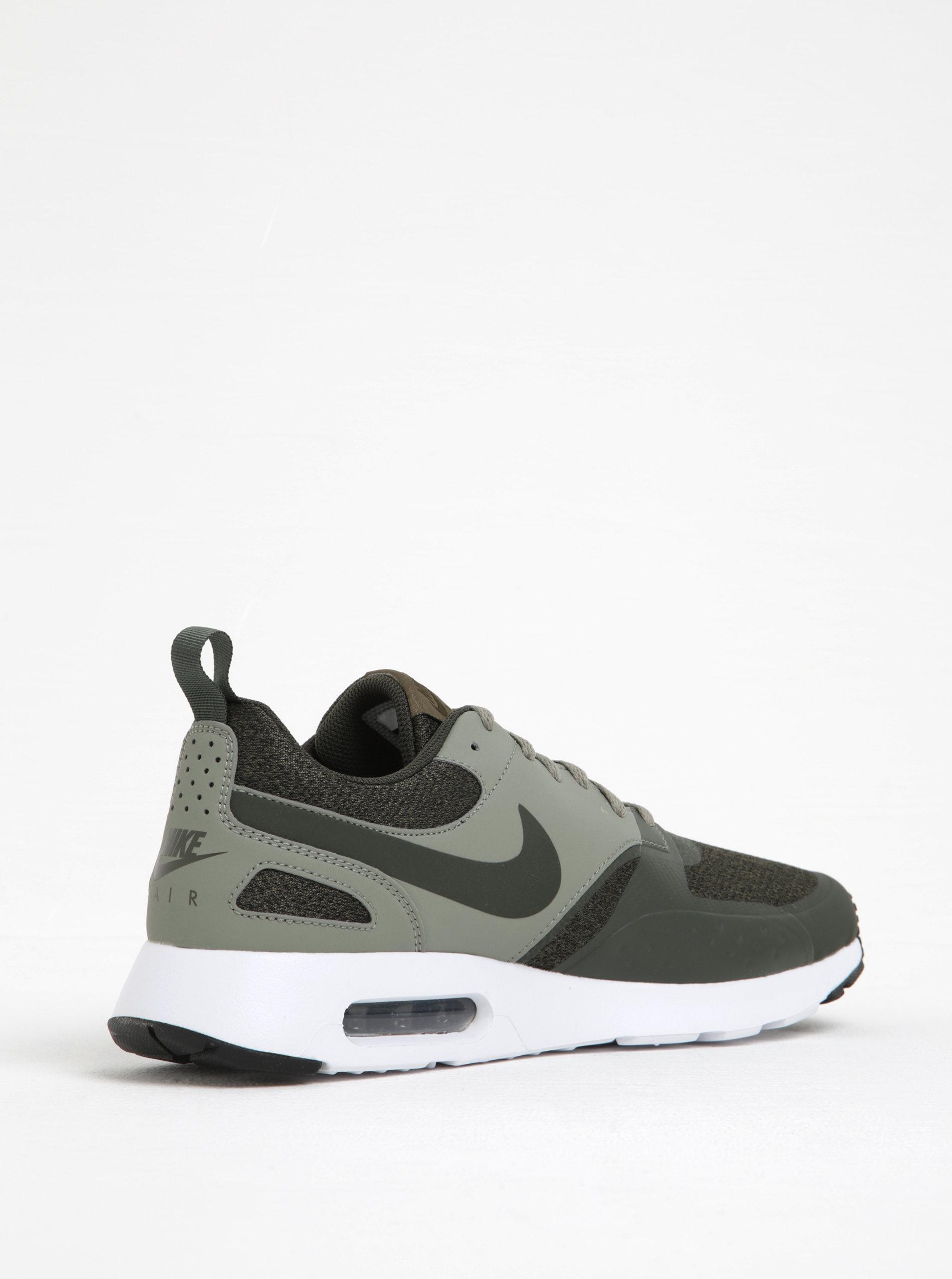 7253c2d41c Pantofi sport verde inchis pentru barbati Nike Air Max Vision ...