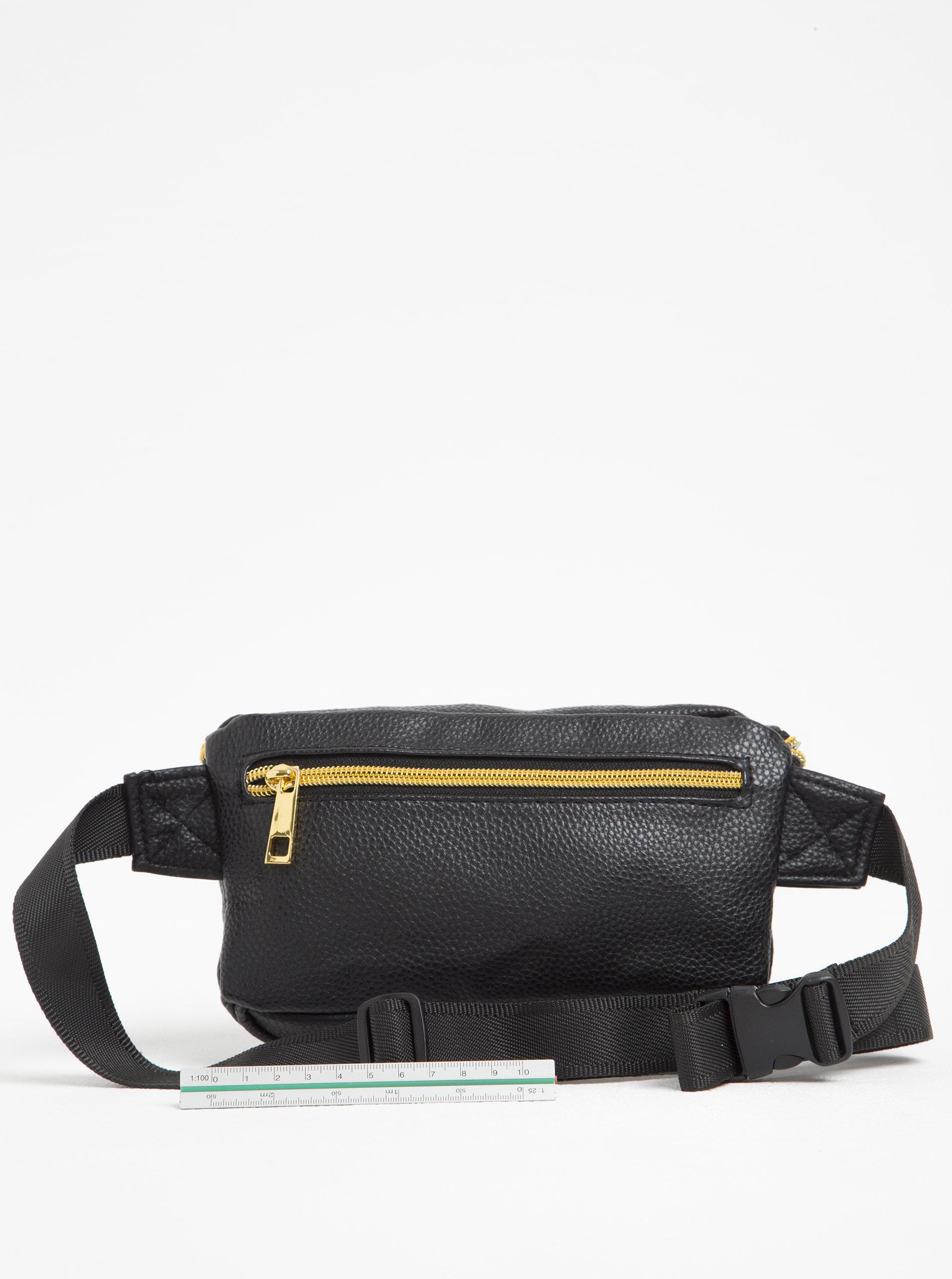 Černá dámská koženková ledvinka Mi-Pac Bum Bag Tumbled ... 2d719a6194