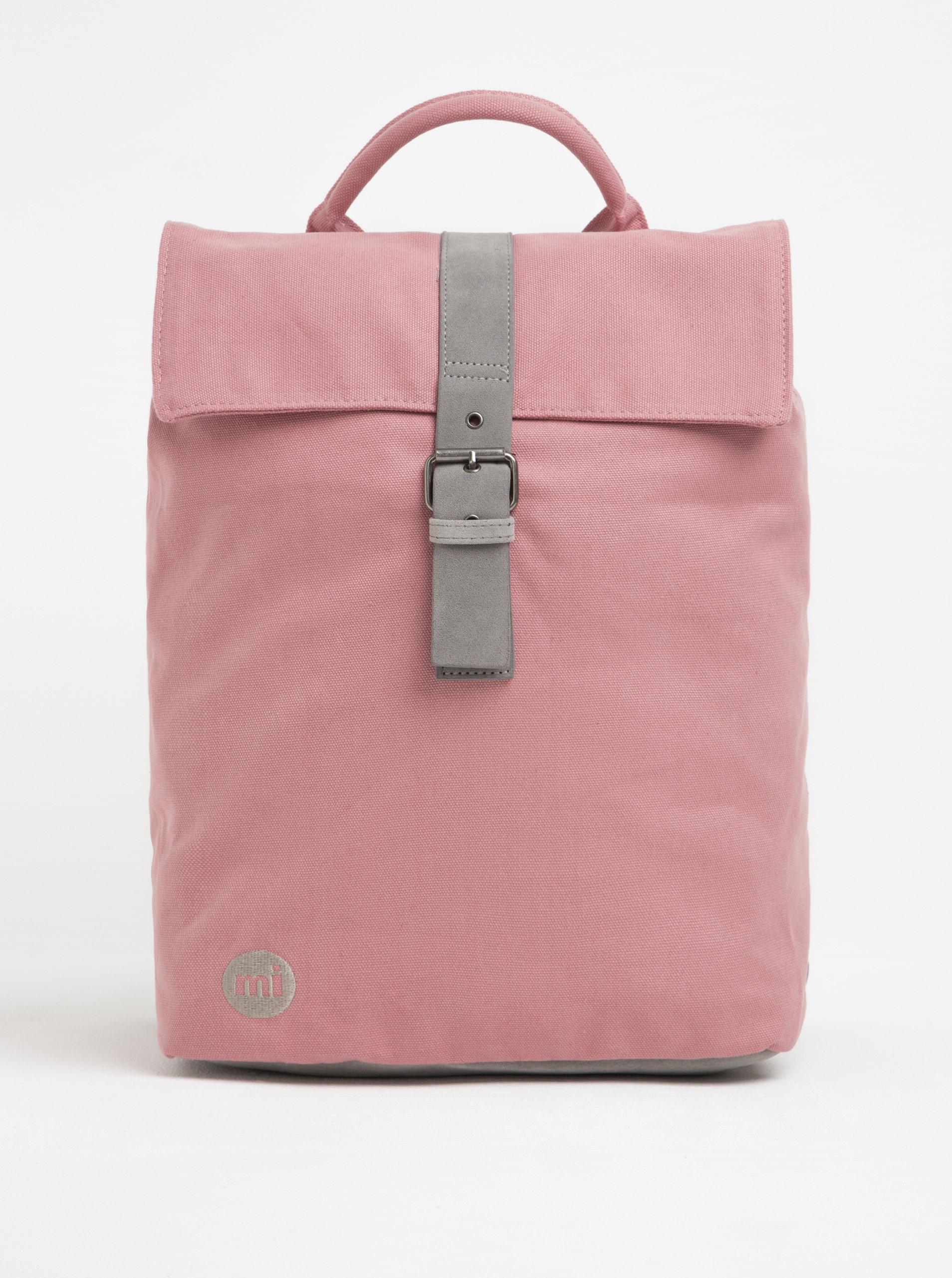 dedac32b00 Ružový dámsky batoh s prackou Mi-Pac Day Pack Canvas 20 l ...