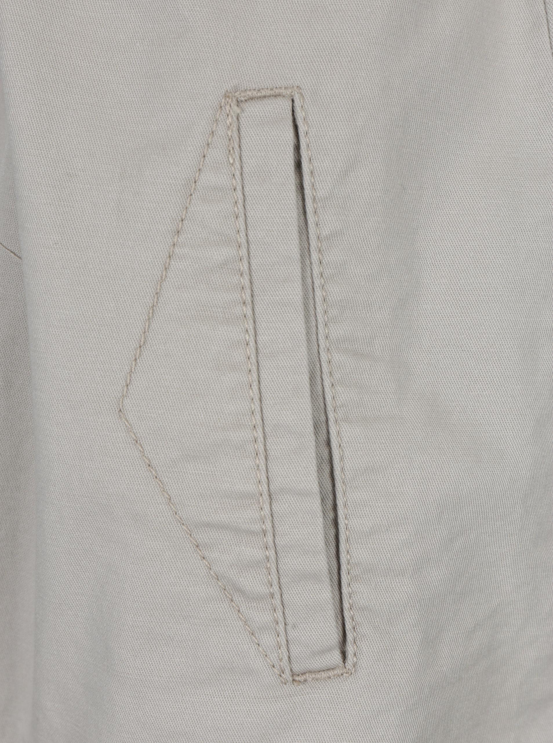 d1c6c0cdb5a Béžové košeľové šaty s krátkym rukávom a opaskom s.Oliver