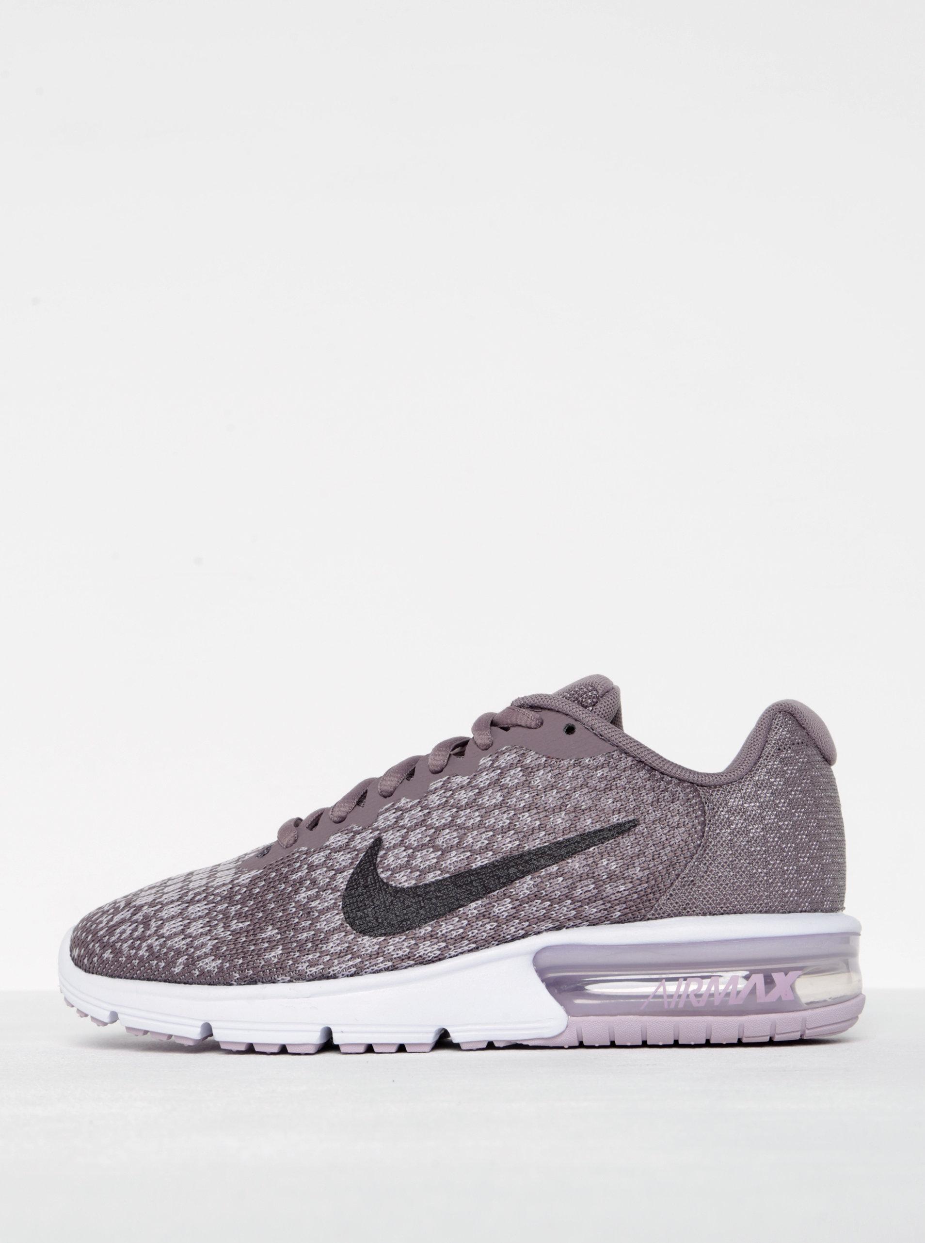 Světle fialové dámské tenisky Nike Air Max Sequent 2 ... 659b2b9258