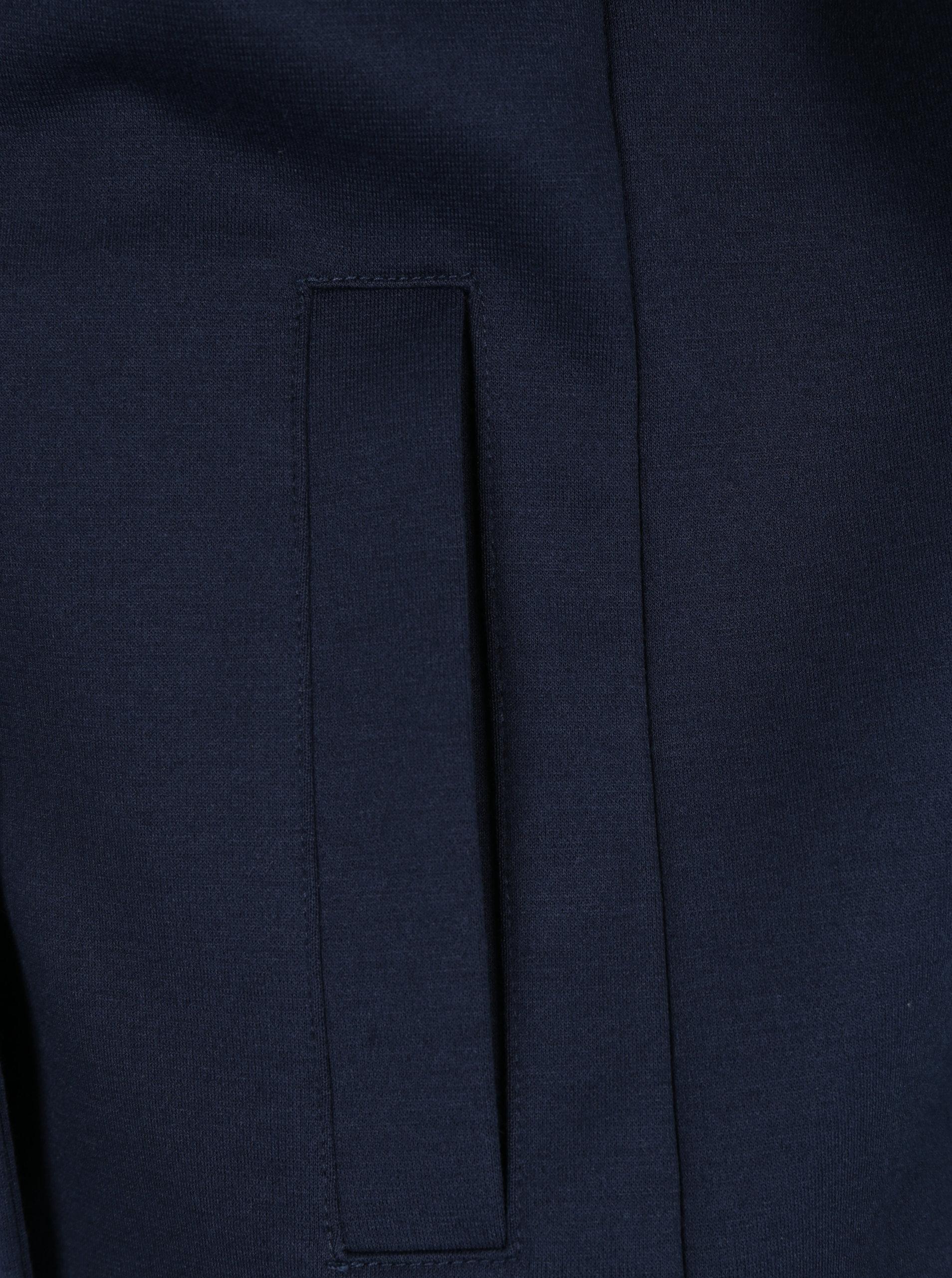 Tmavomodré dámske sako s gombíkmi a vreckami s.Oliver  0cb26357ca8