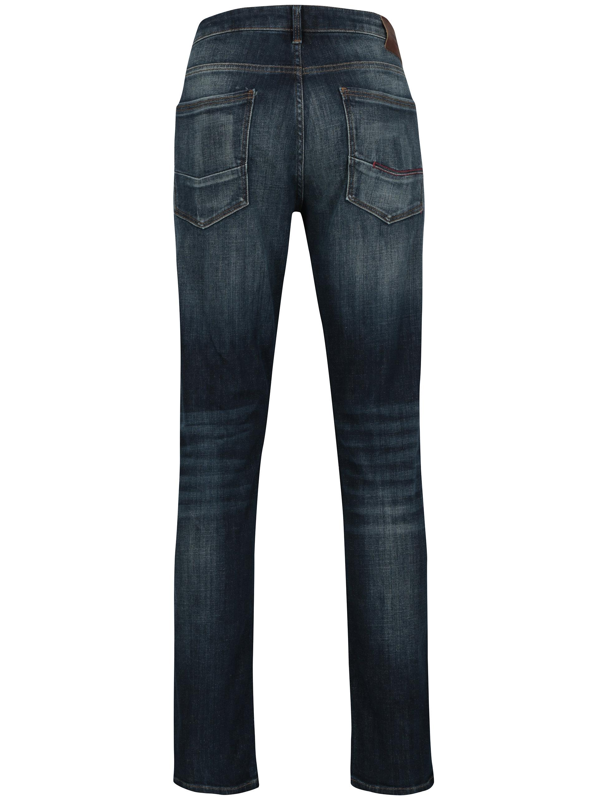 Tmavě modré pánské slim fit džíny Cross Jeans ... 667e0738d7