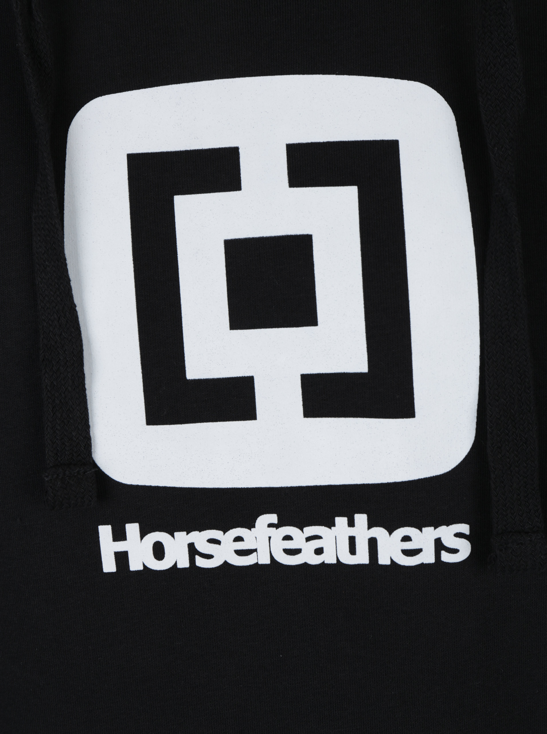ce670ad1d1d7 Čierna pánska dlhá mikina s kapucňou Horsefeathers Sherwin Il Long ...