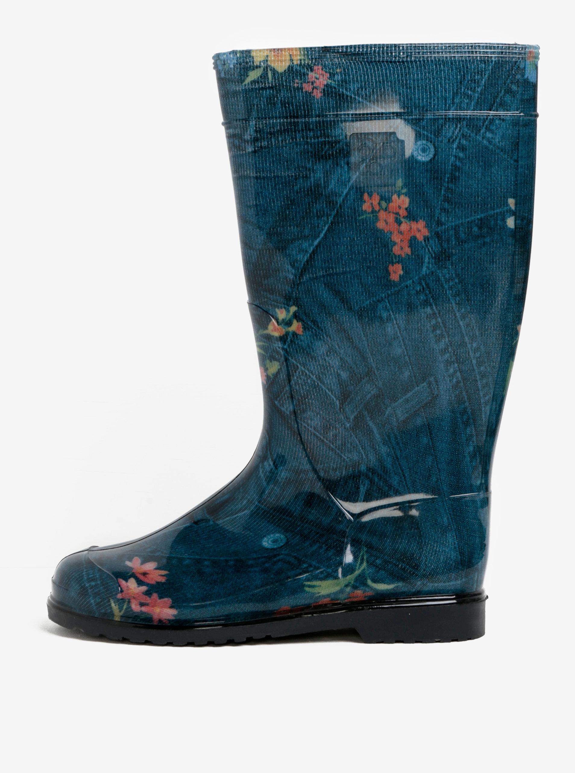 dd130ba03c4f0 Modré dámske gumáky Oldcom Rain | ZOOT.sk