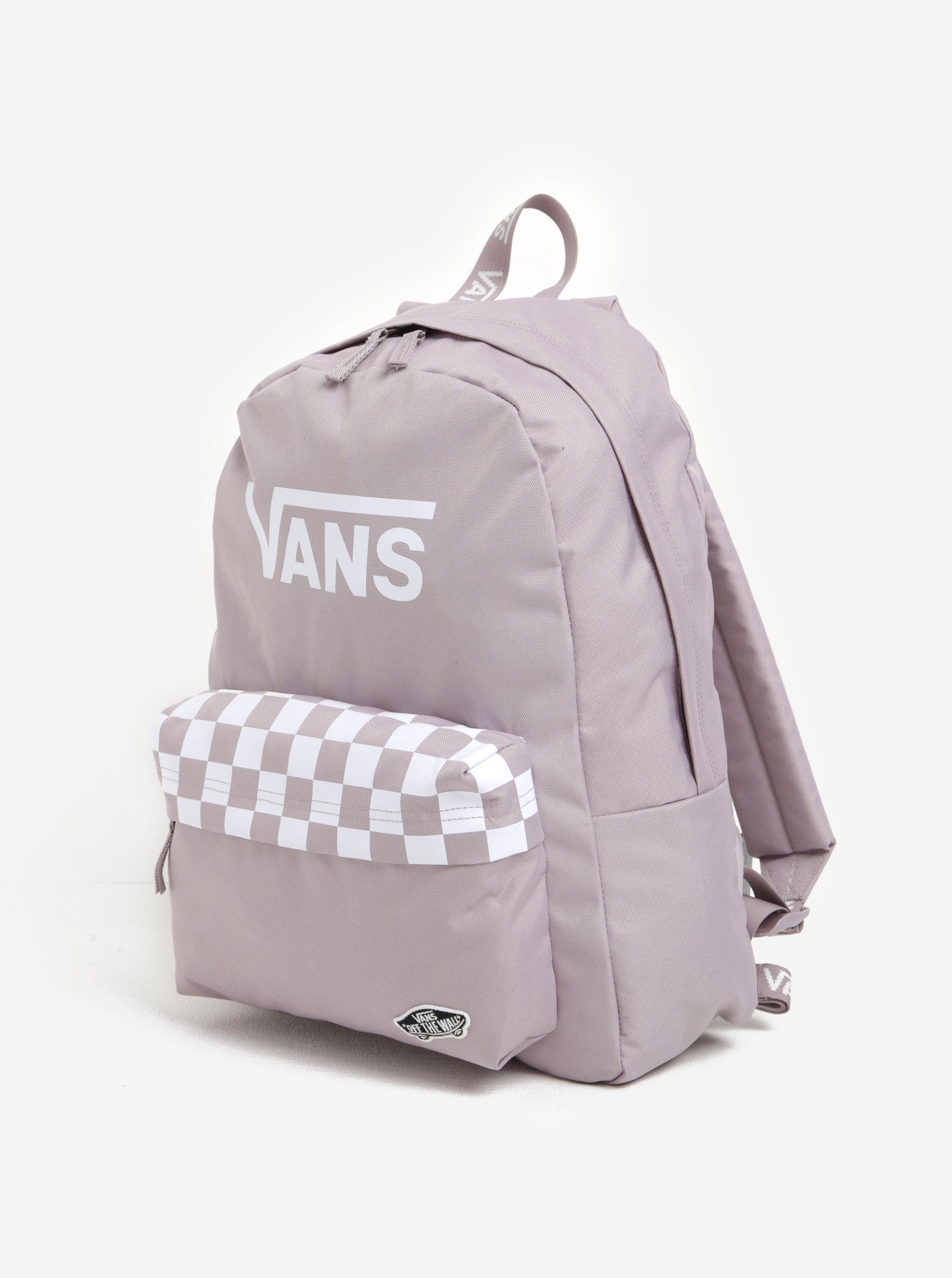 Starorůžový batoh s potiskem VANS Sporty Realm 22 l ... d6dea04f16