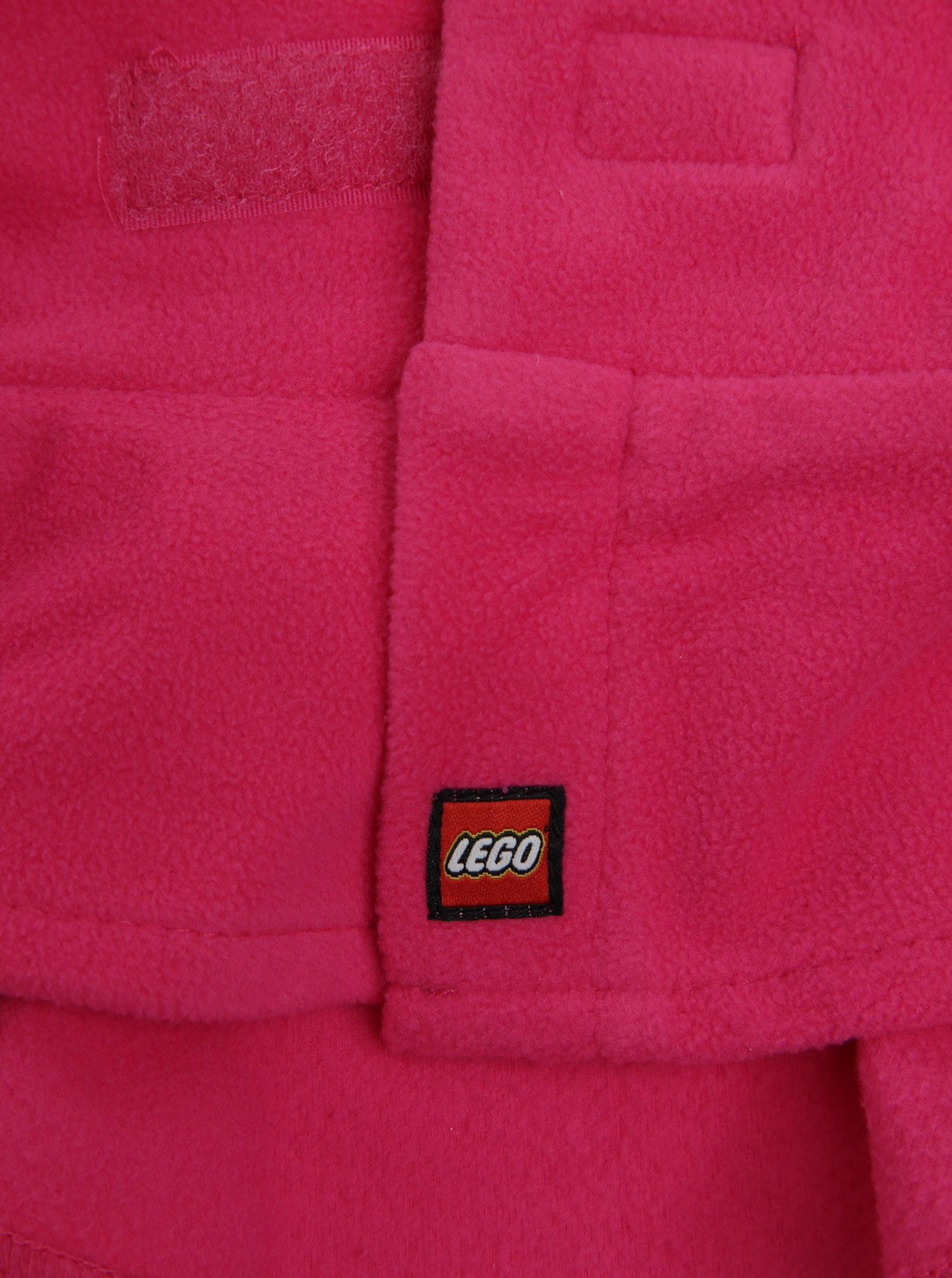 Růžový holčičí nákrčník Lego Wear Ayan - SLEVA!  baae149996